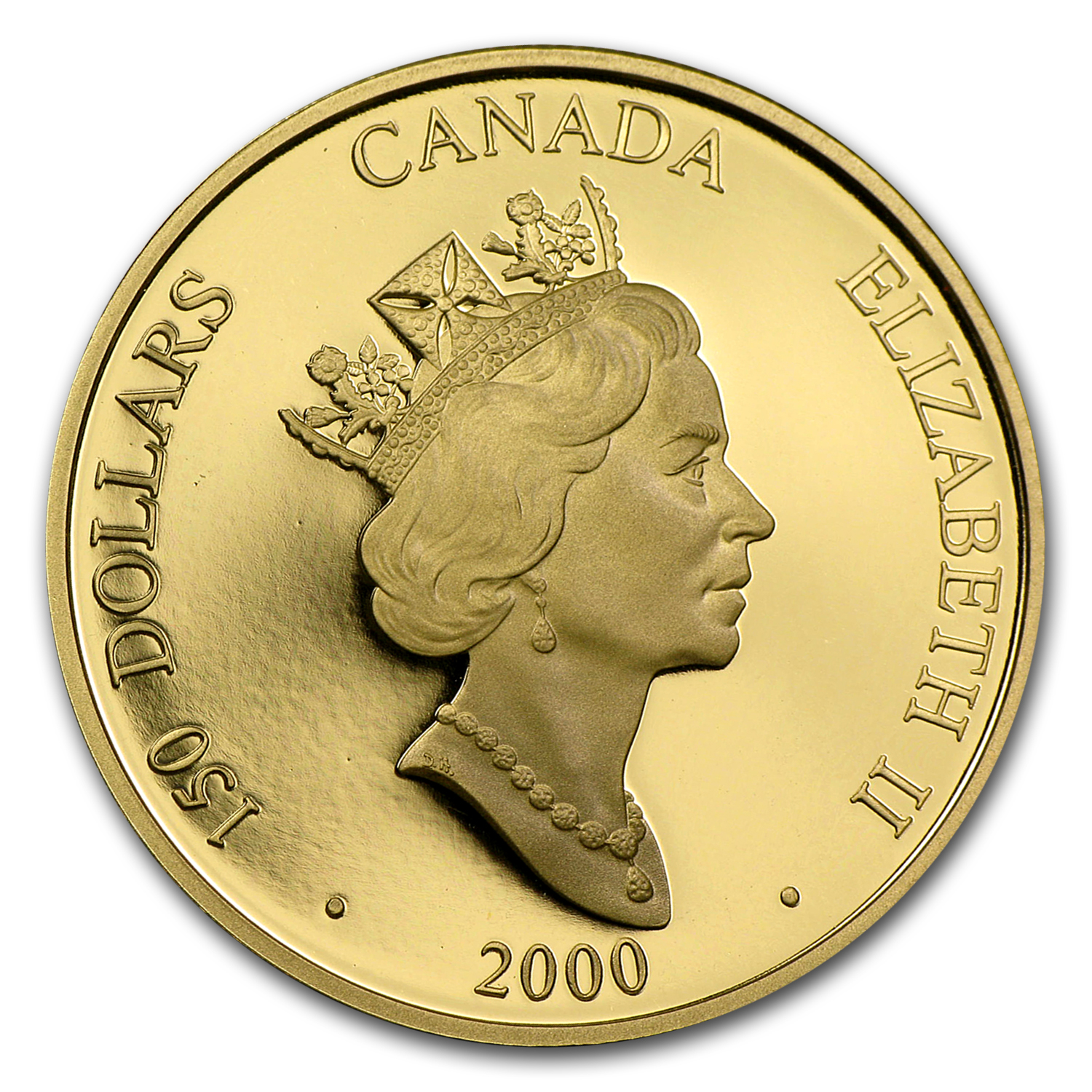 2000 Canada Gold $150 Dragon (Hologram w/Box & COA)
