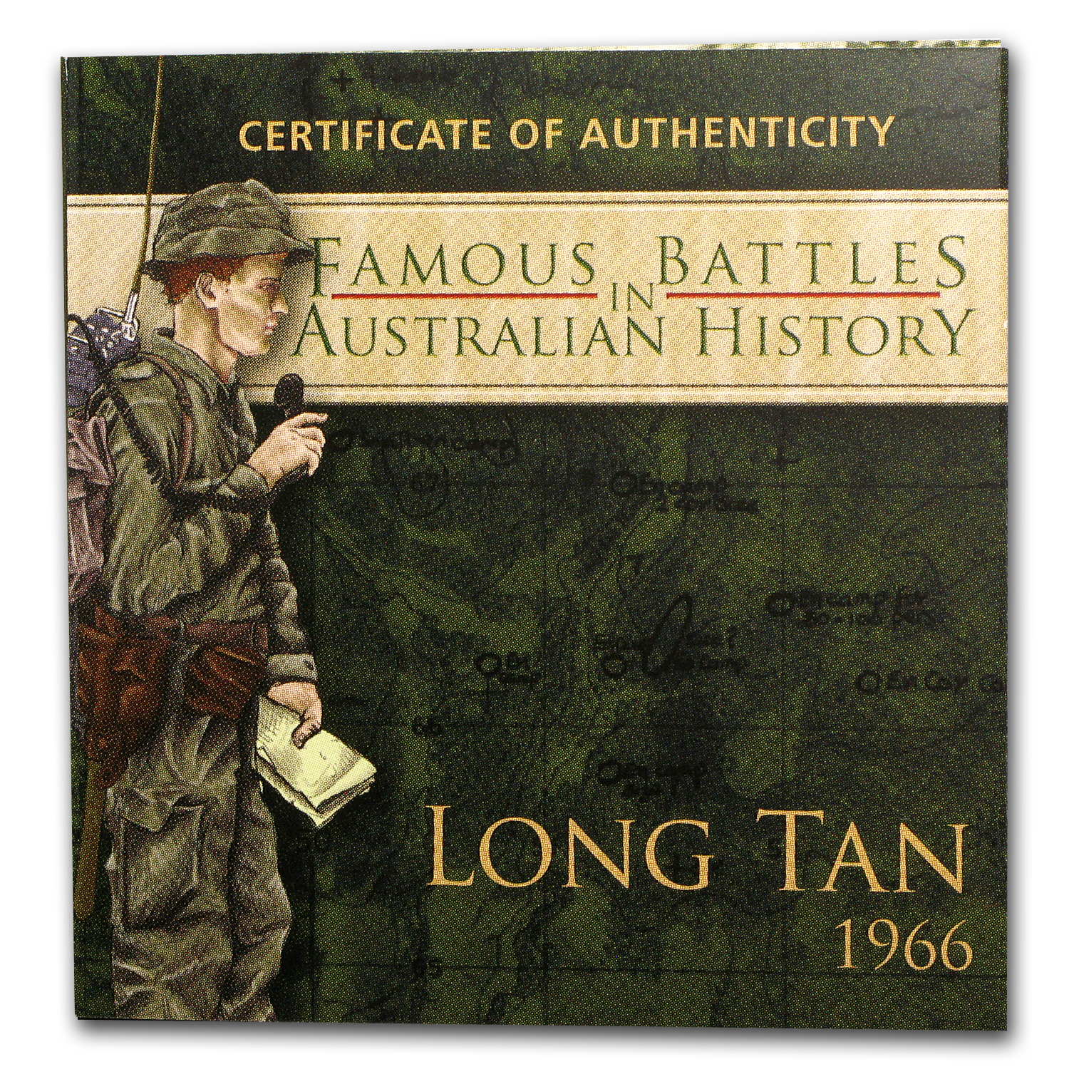 2012 1 oz Silver Australian Battle of Long Tan Proof