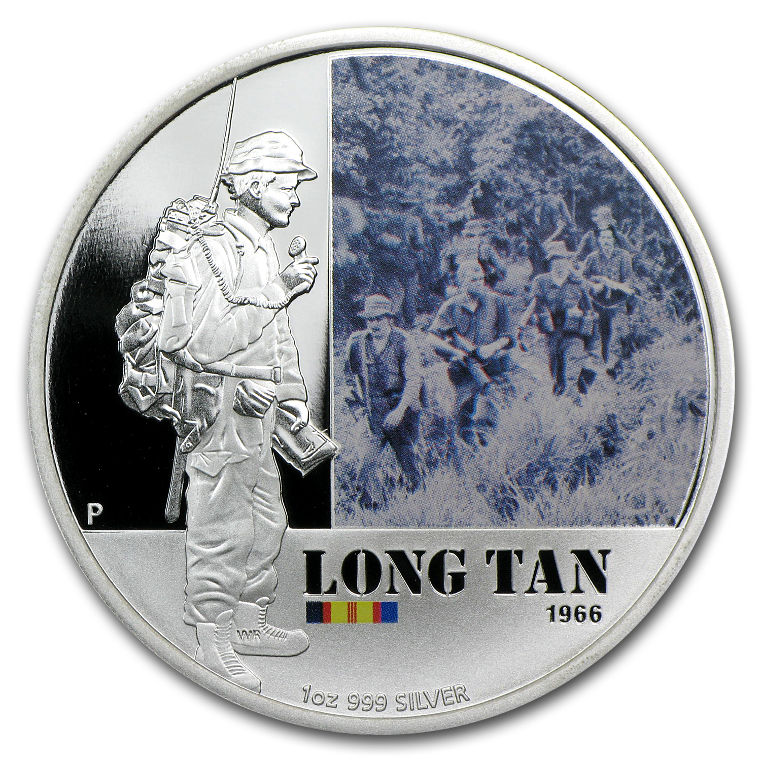 2012 1 oz Proof Silver Battle of Long Tan - Australian History