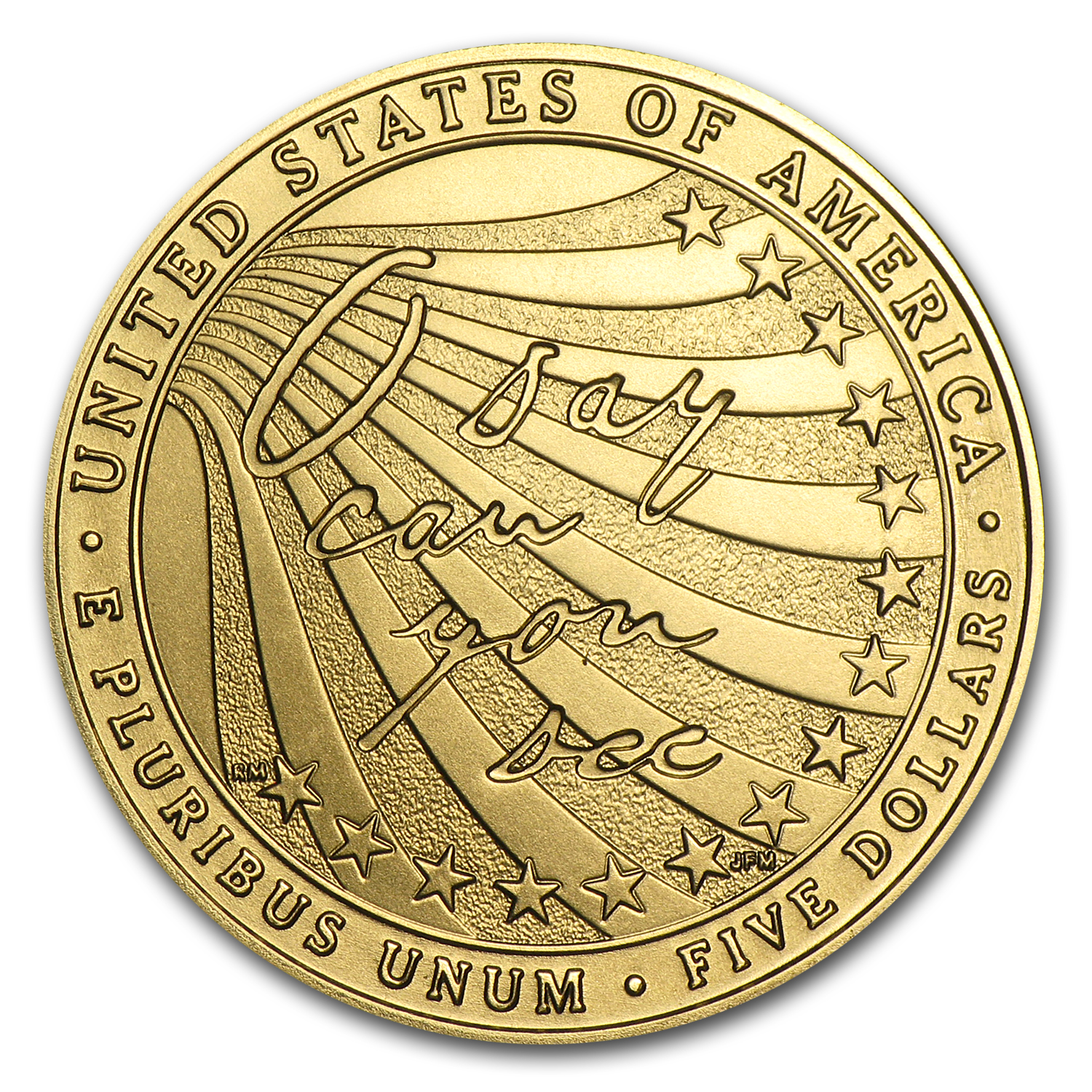 2012-W $5 Gold Commemorative Star Spangled Banner BU