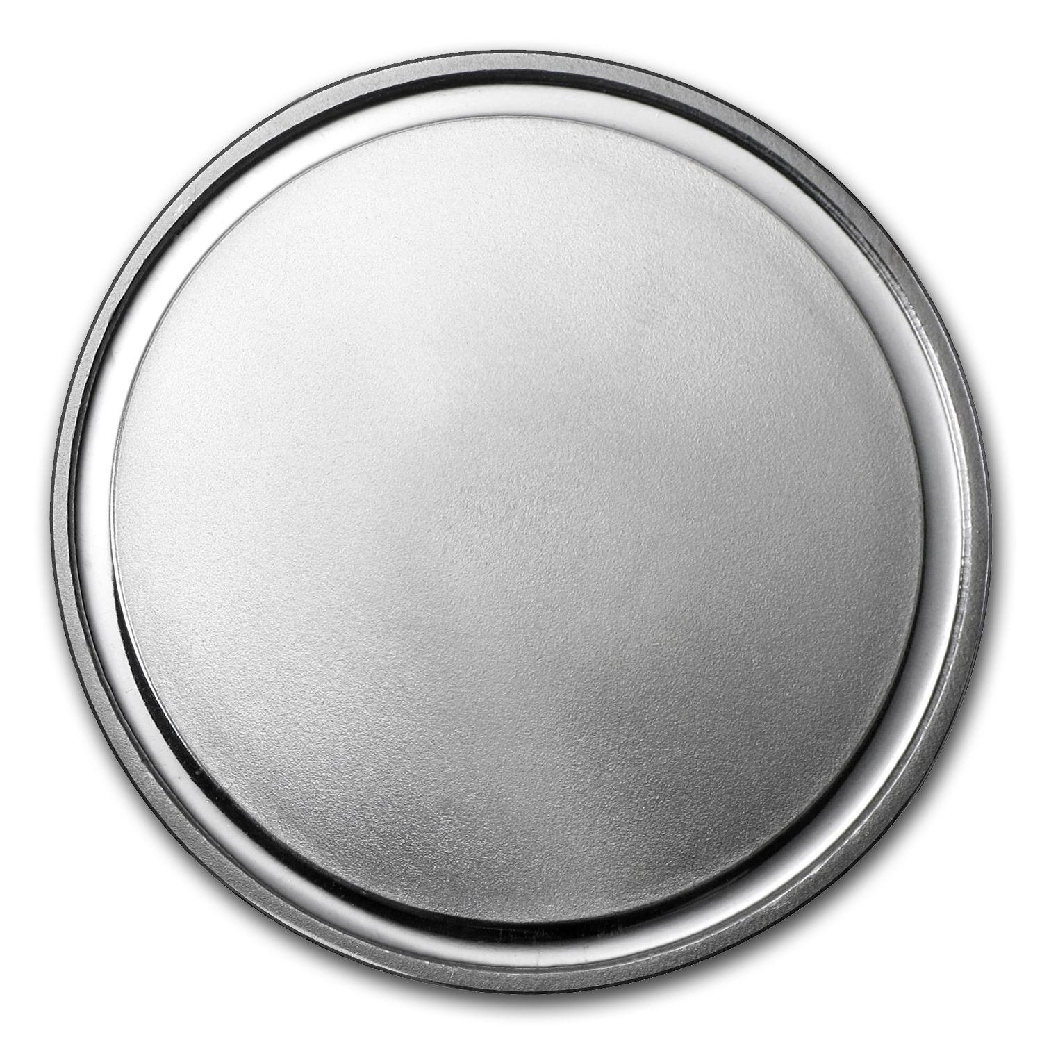 Gallery images and information: Blank Silver Coin