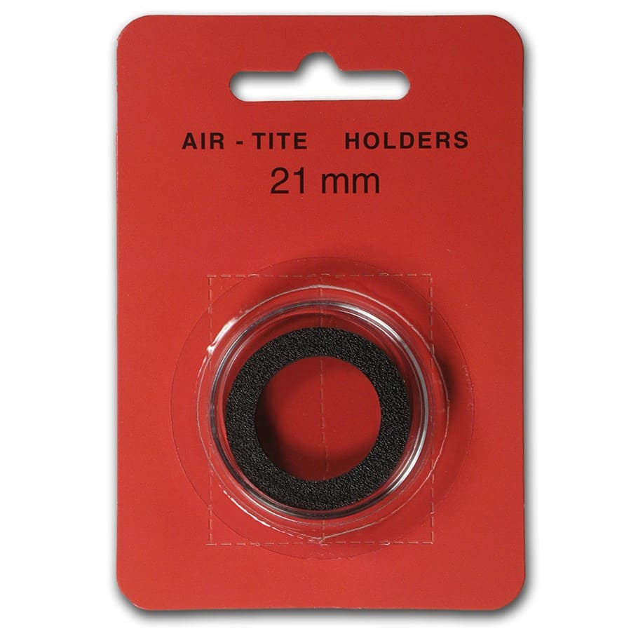 Air-Tite Holder w/Black Gasket - 21 mm