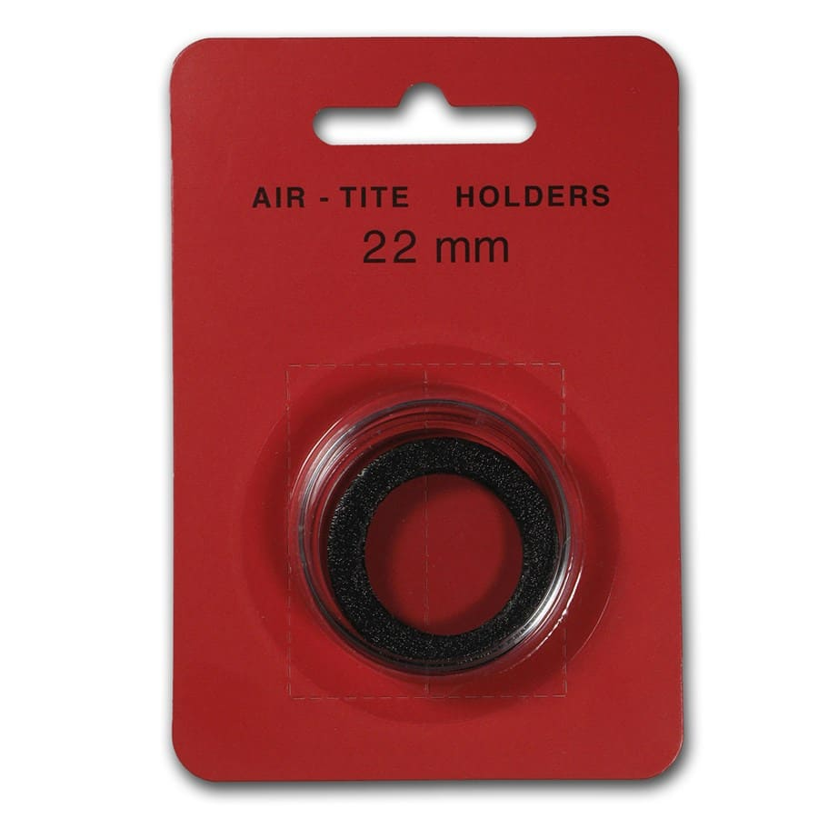 Air-Tite Holder w/Black Gasket - 22 mm