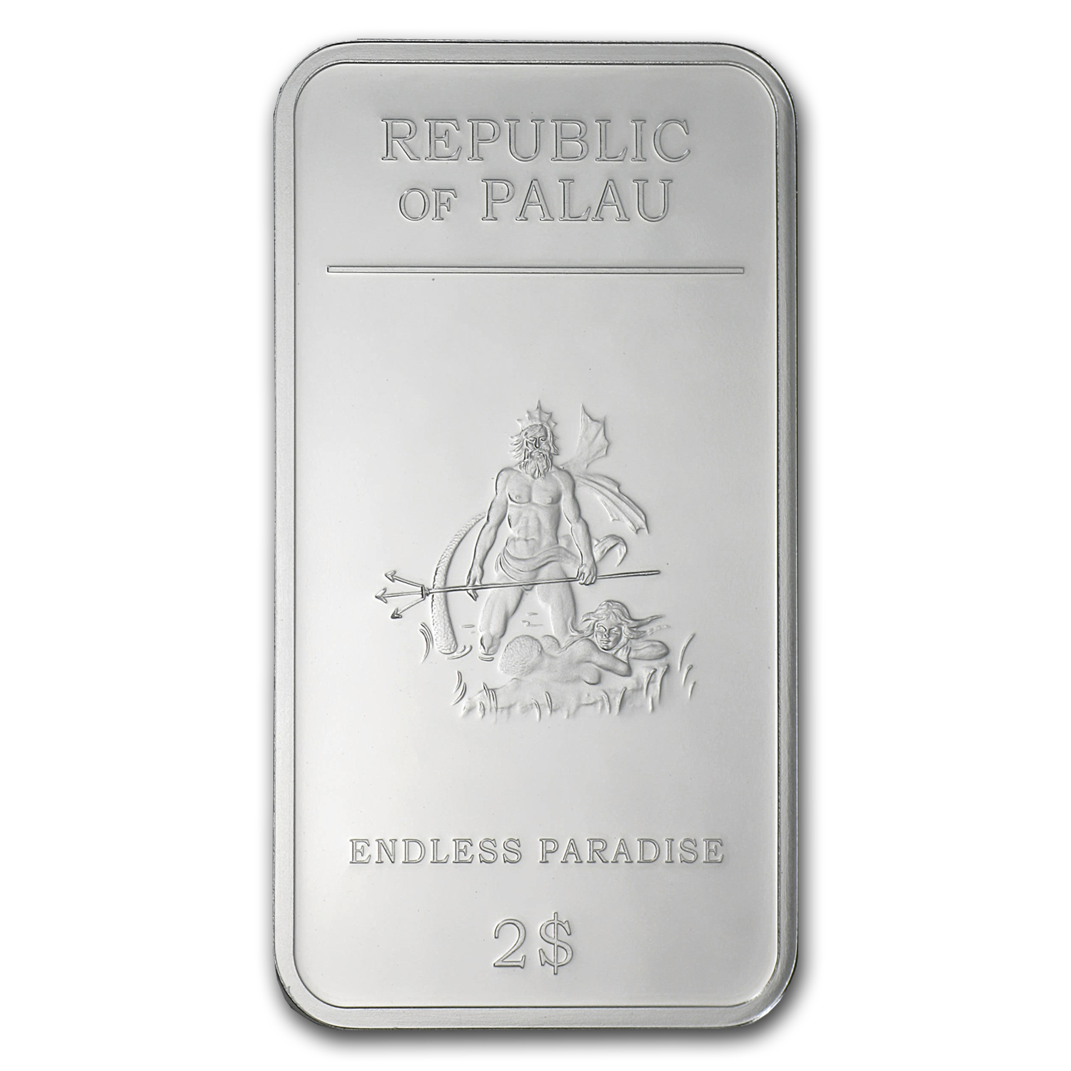 2012 Palau 5-Coin Silver $2 Endless Paradise Set