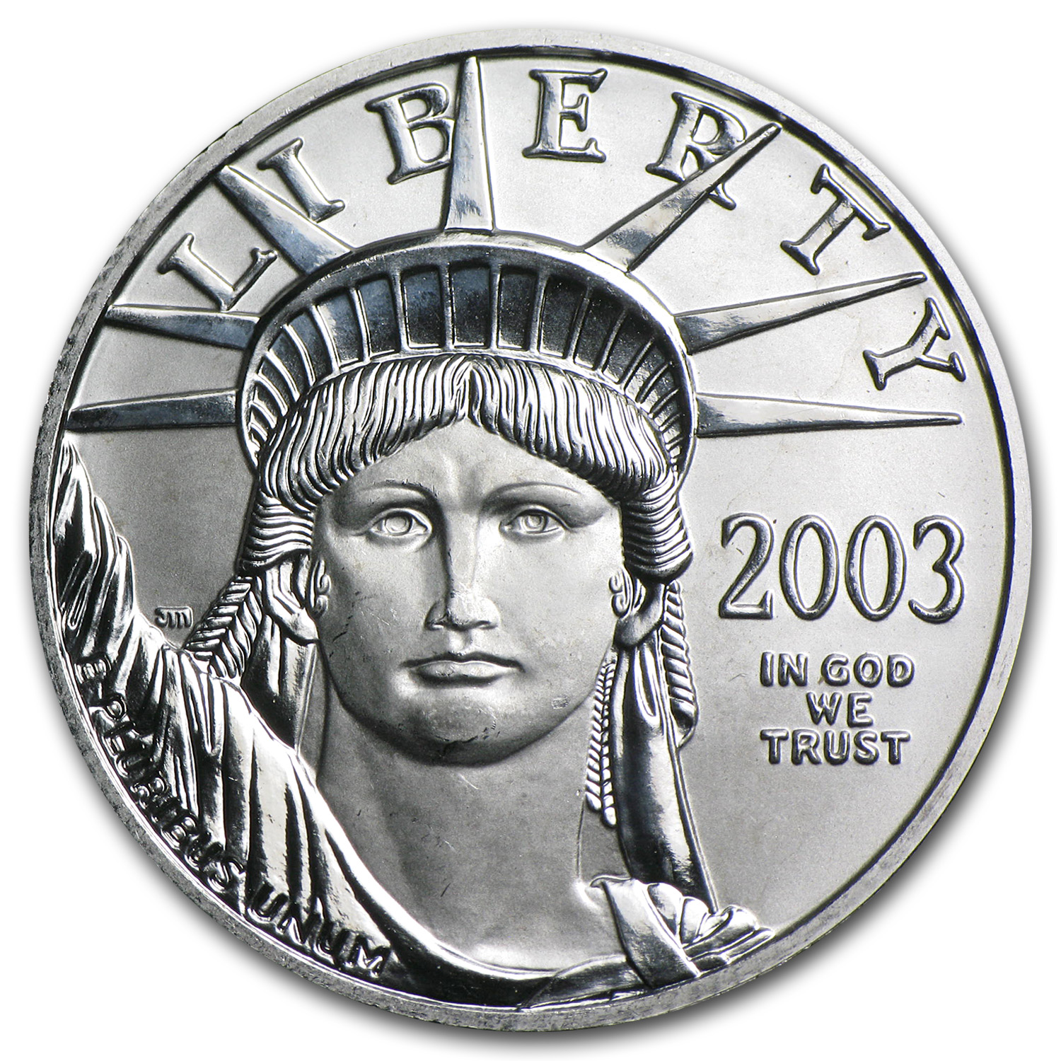 2003 1/2 oz Platinum American Eagle BU