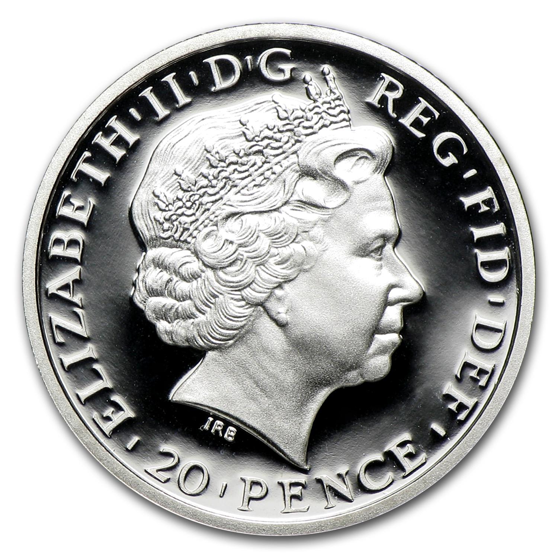 2011 Great Britain 1 10 Oz Silver Britannia Proof