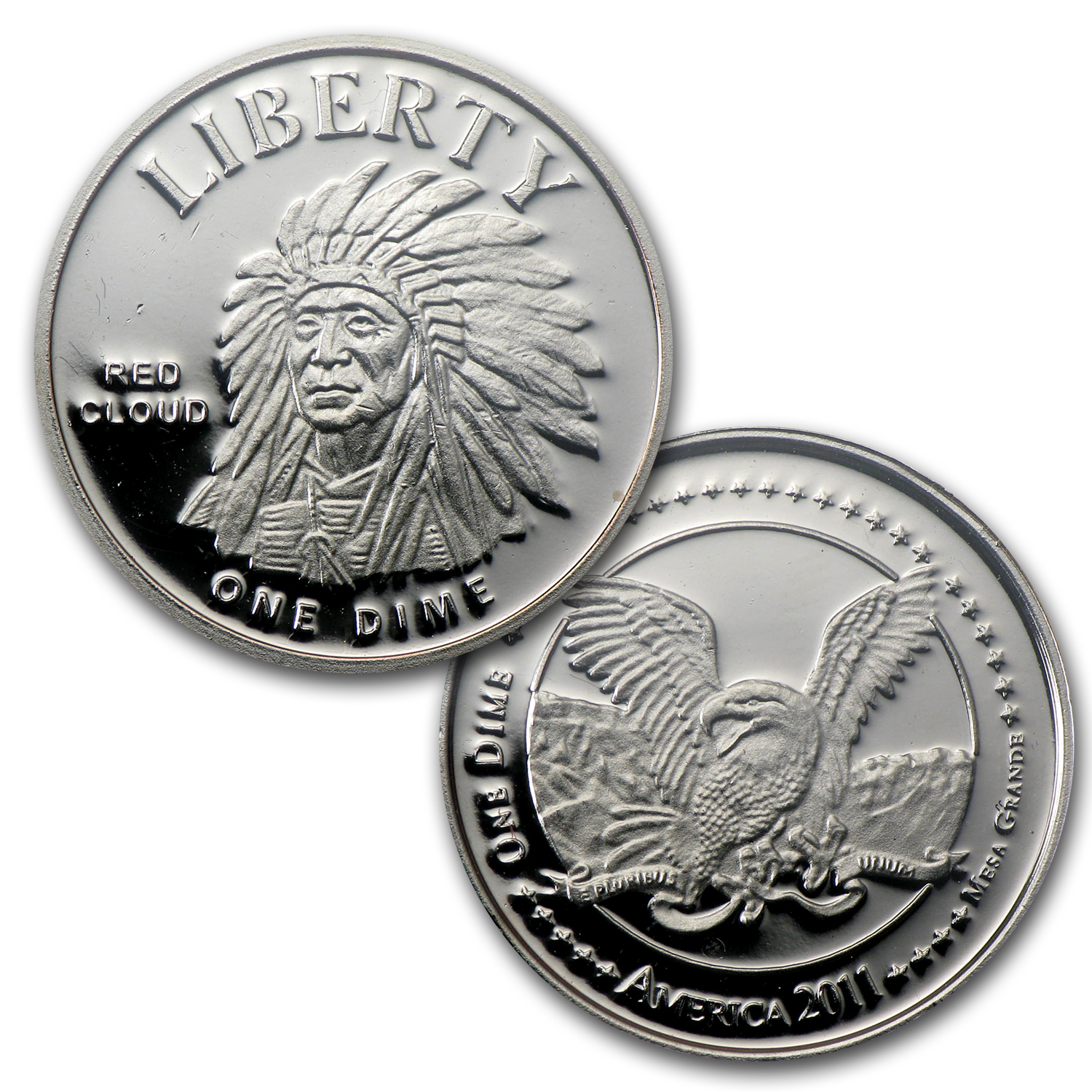 First Official Commemorative 2011 Mesa Grande Tribe Coin Set