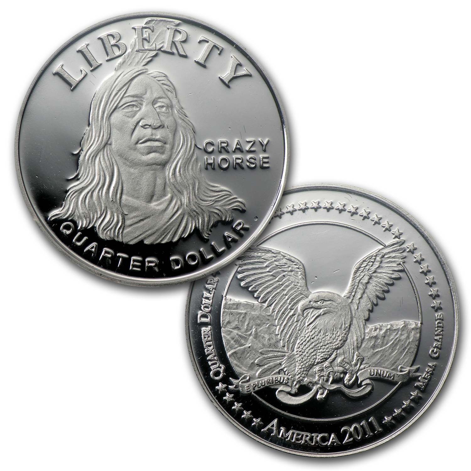 2011 Mesa Grande Tribe Coin Set