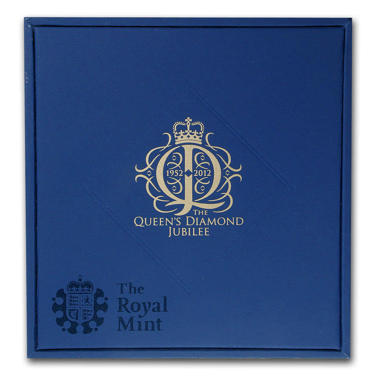 2012 GB £5 Silver Piedfort Queen's Diamond Jubilee - Proof