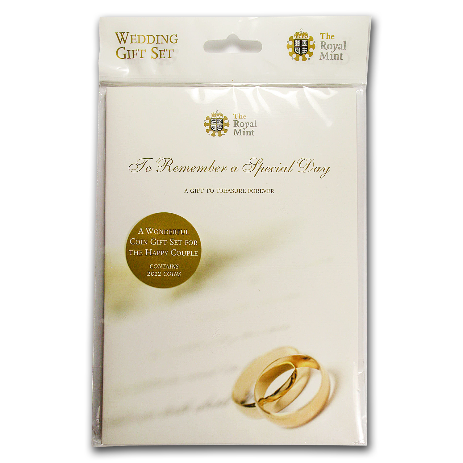 2012 8-Coin Great Britain Wedding Coins Gift Pack BU