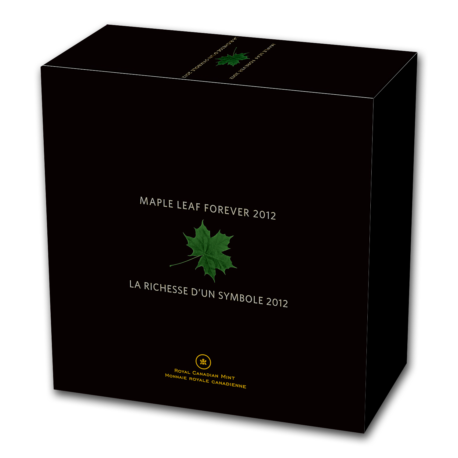 2012 1 Kilo Silver Canadian $250 Maple Leaf Forever (w/Box & COA)