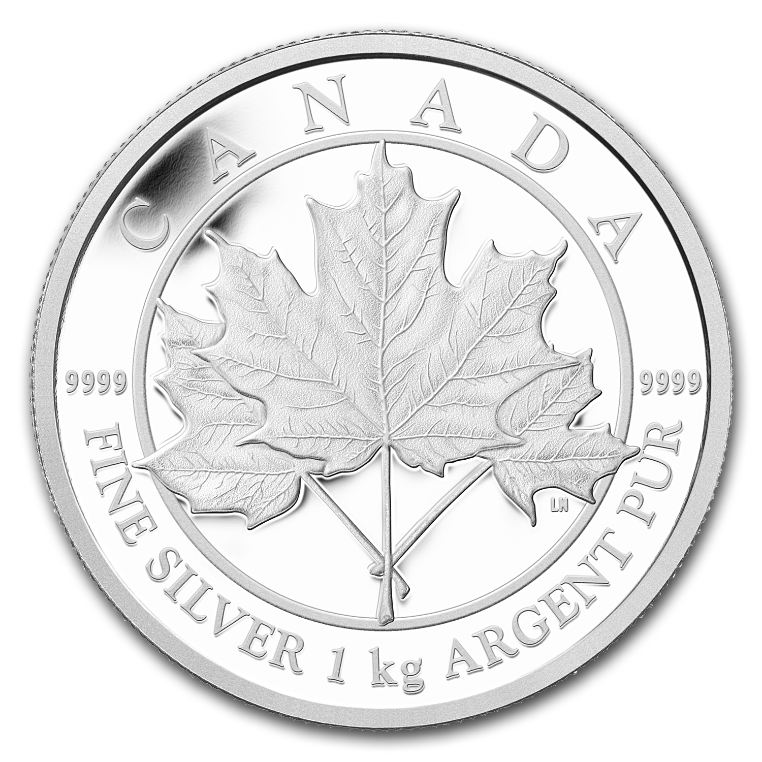 2012 Kilo Silver Canadian $250 Maple Leaf Forever (W/Box & COA)
