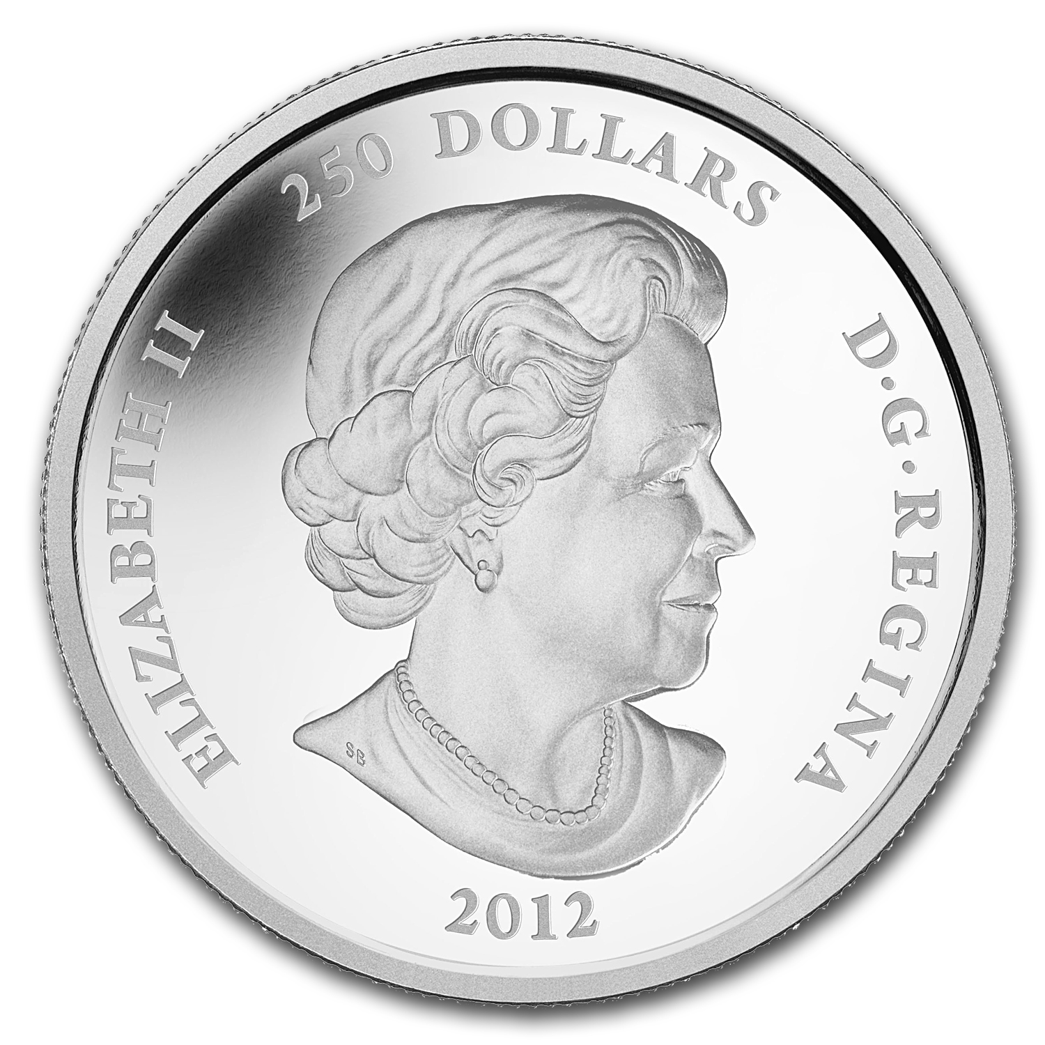 2012 Canada 1 kilo Silver $250 Maple Leaf Forever (w/Box & COA)