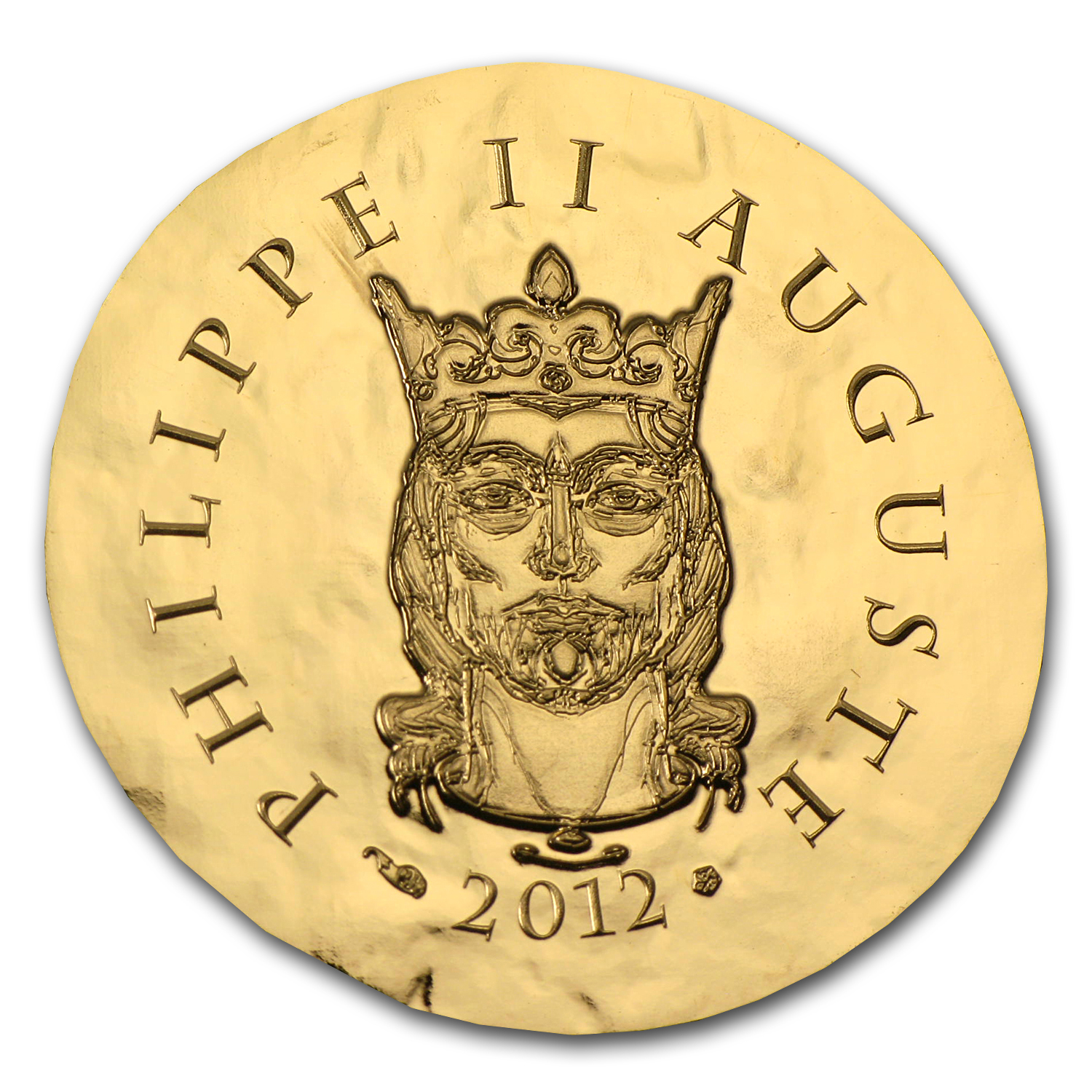 2012 1/4 oz Gold Proof Legendary Collection - Philippe II Auguste