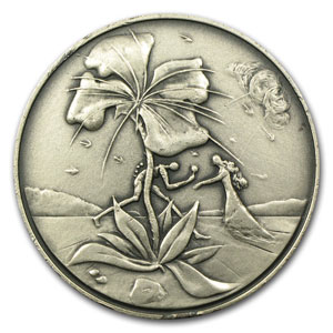 2.62 oz Silver Rounds - 12 Tribes of Israel (Reuben)