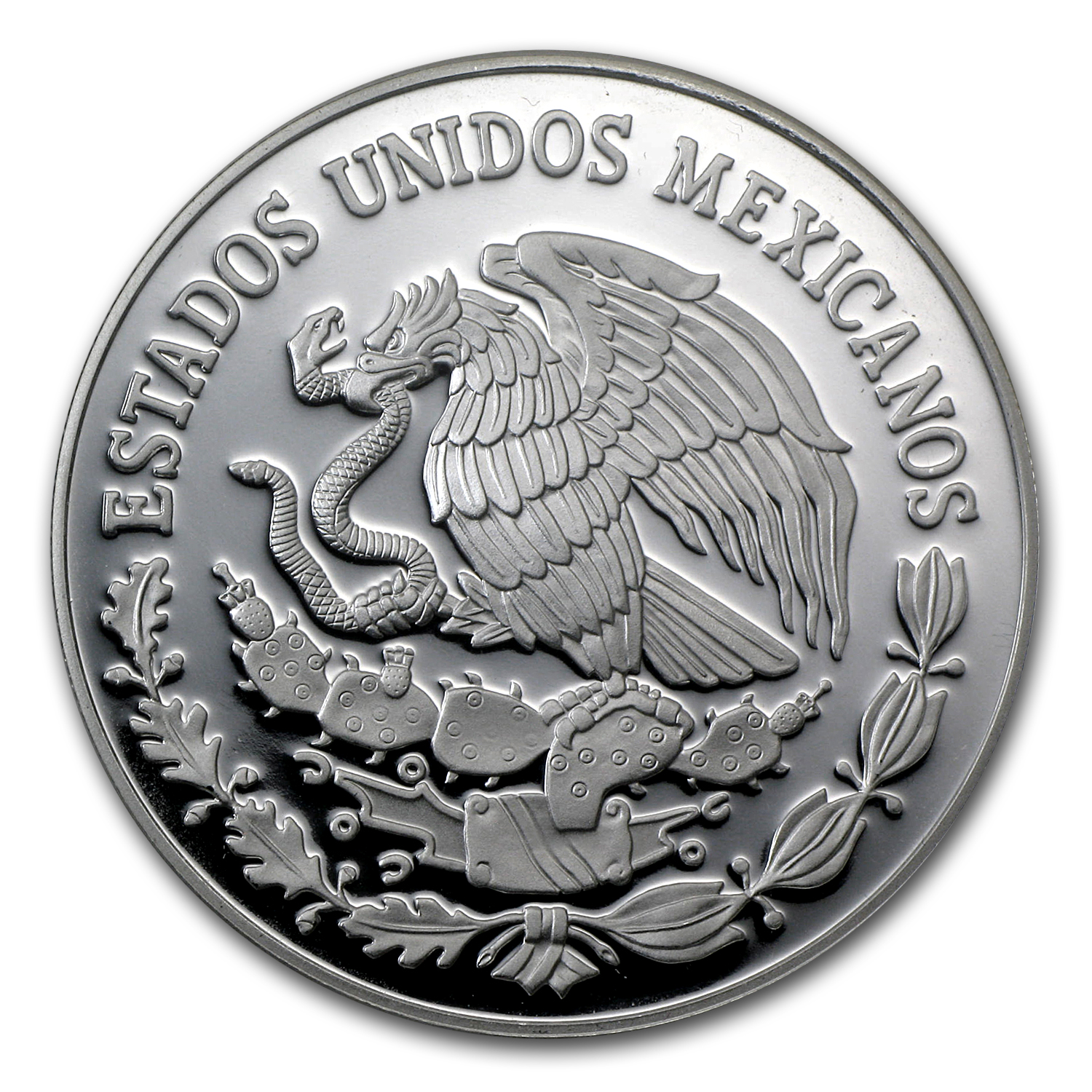 2010 Mexico Silver 2 oz Dolores Parish Bicentenario