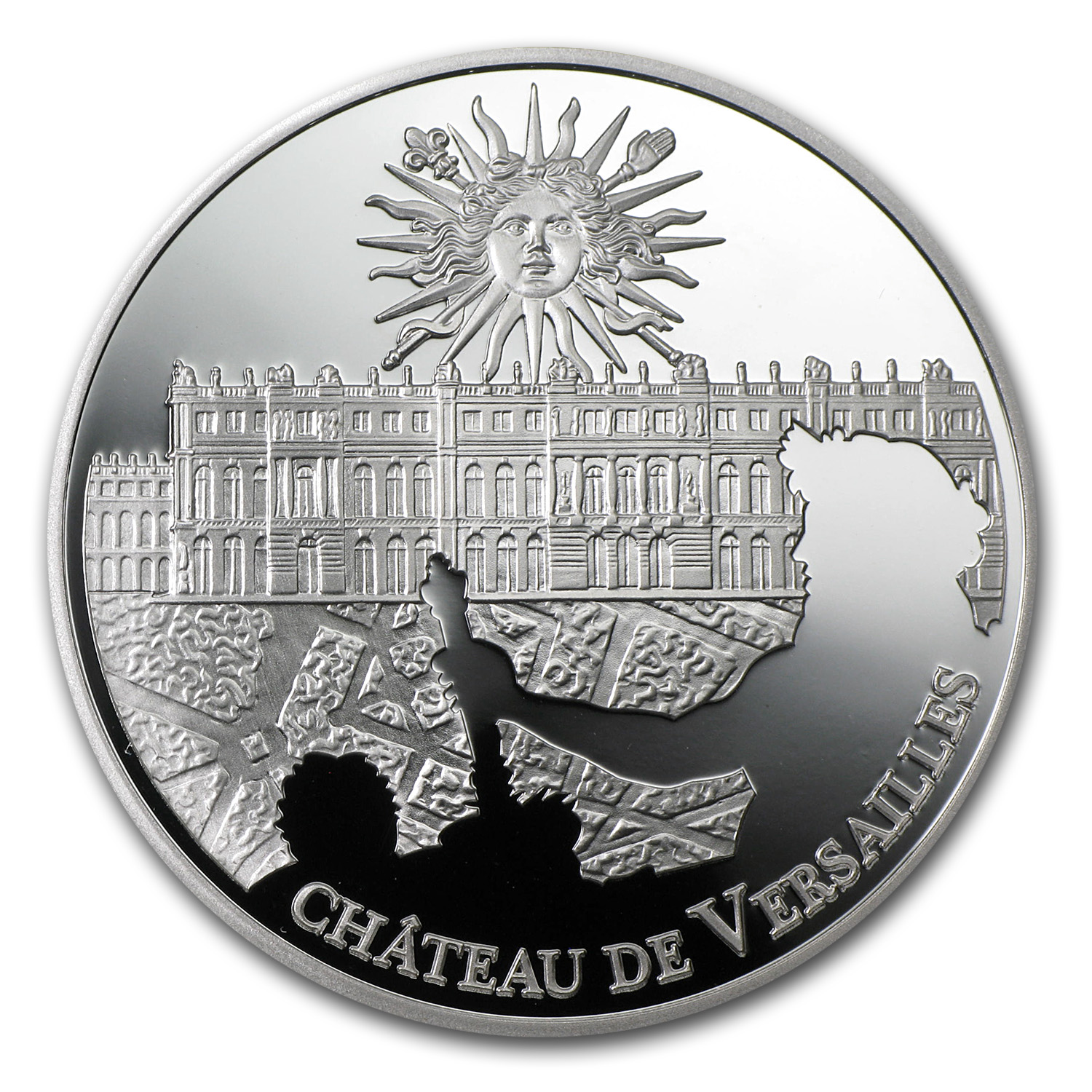 2011 France Silver €10 UNESCO Palace of Versailles Proof