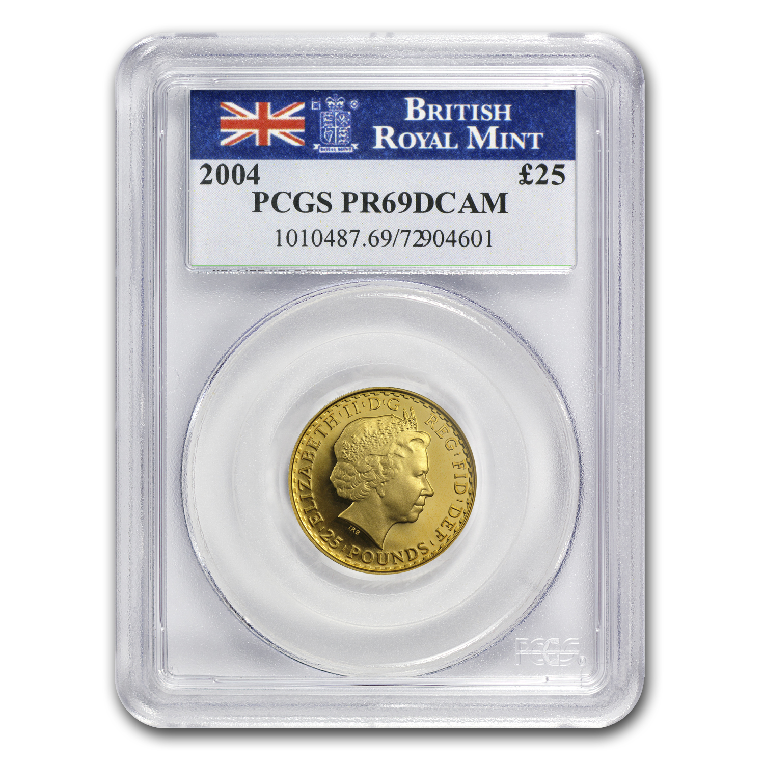2004 4-Coin Proof Gold Britannia Set PR-69 Deep Cameo PCGS
