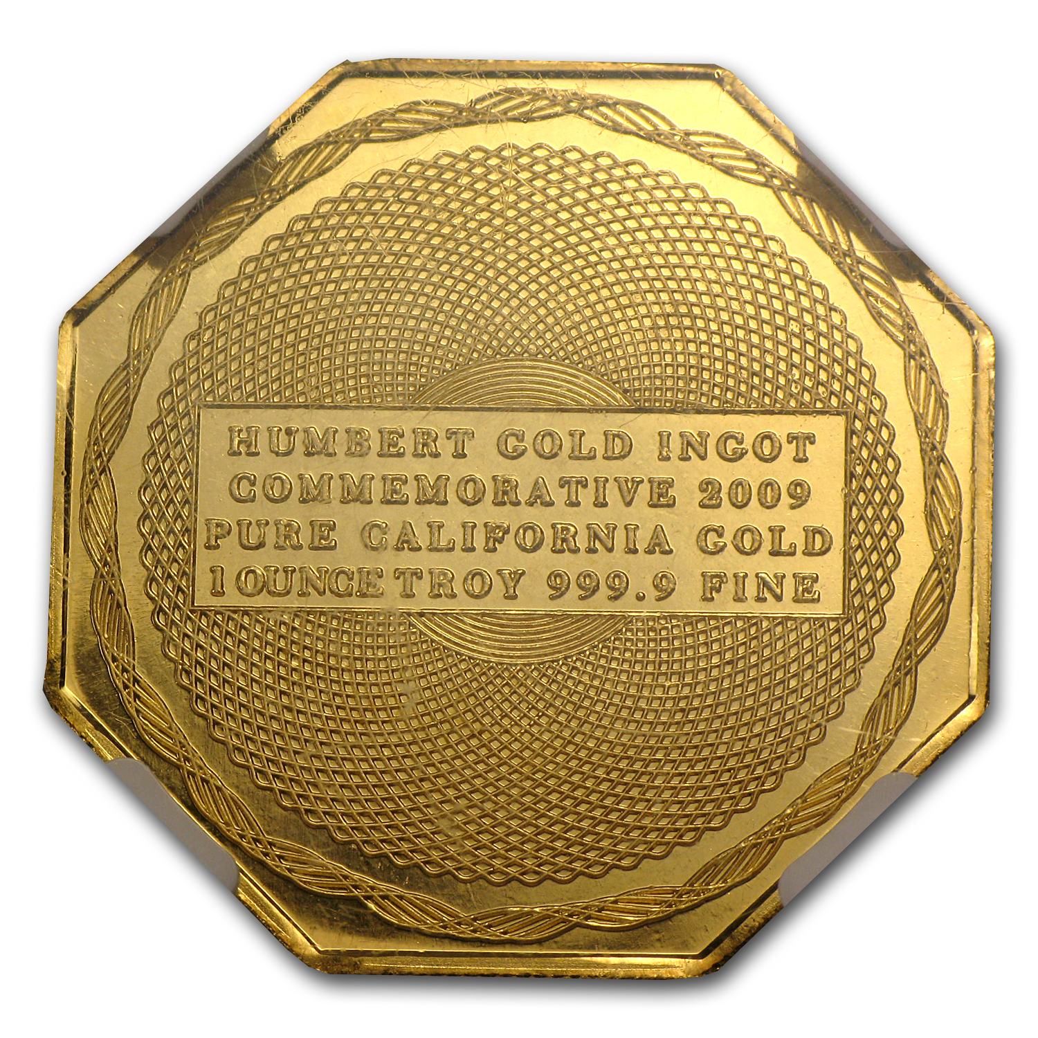1 oz 2009 Humbert Commemorative Gold (Ultra Cameo)