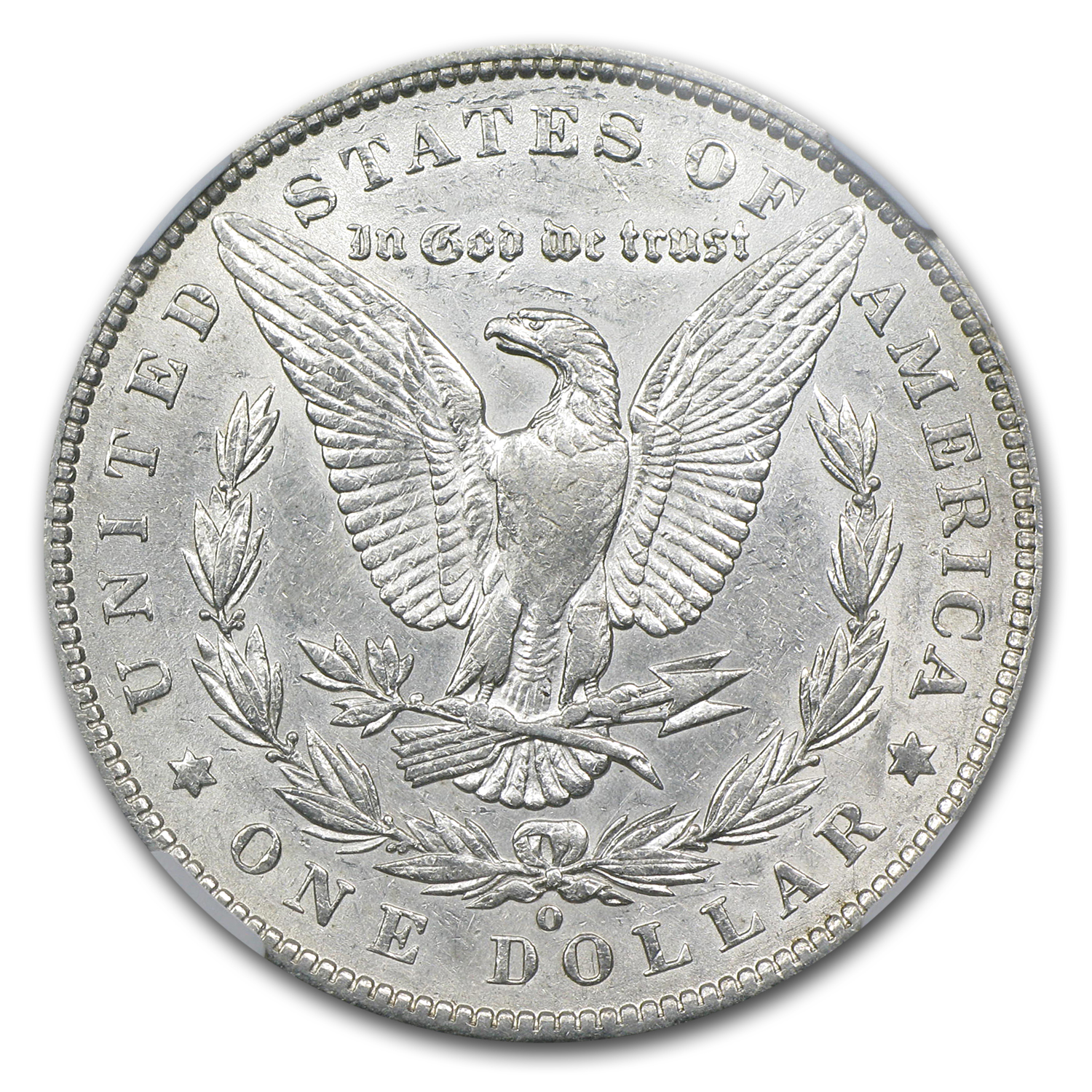 1886-O/O Morgan Dollar AU-50 NGC (VAM-7, Hot-50)