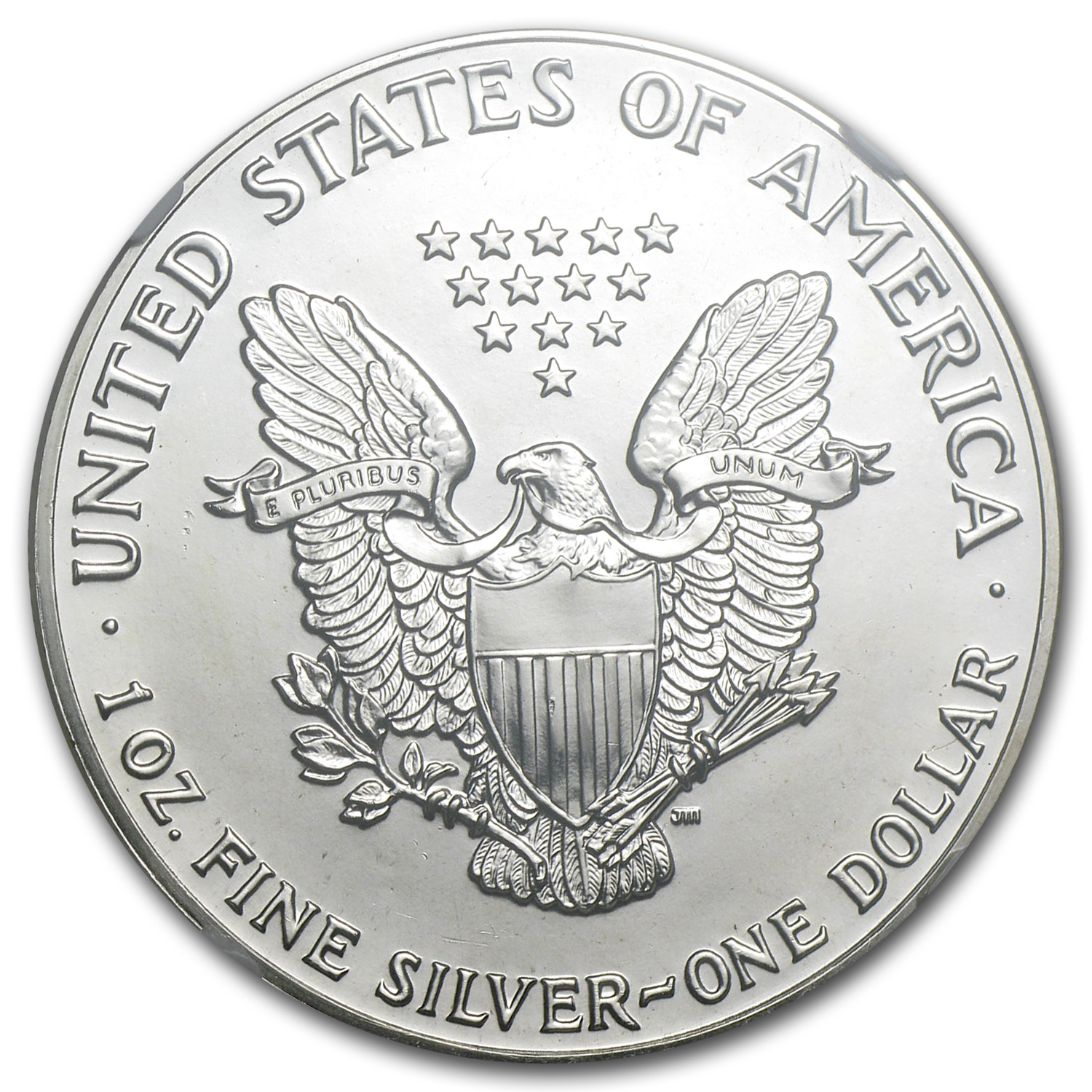 1988 Silver American Eagle MS-69 NGC