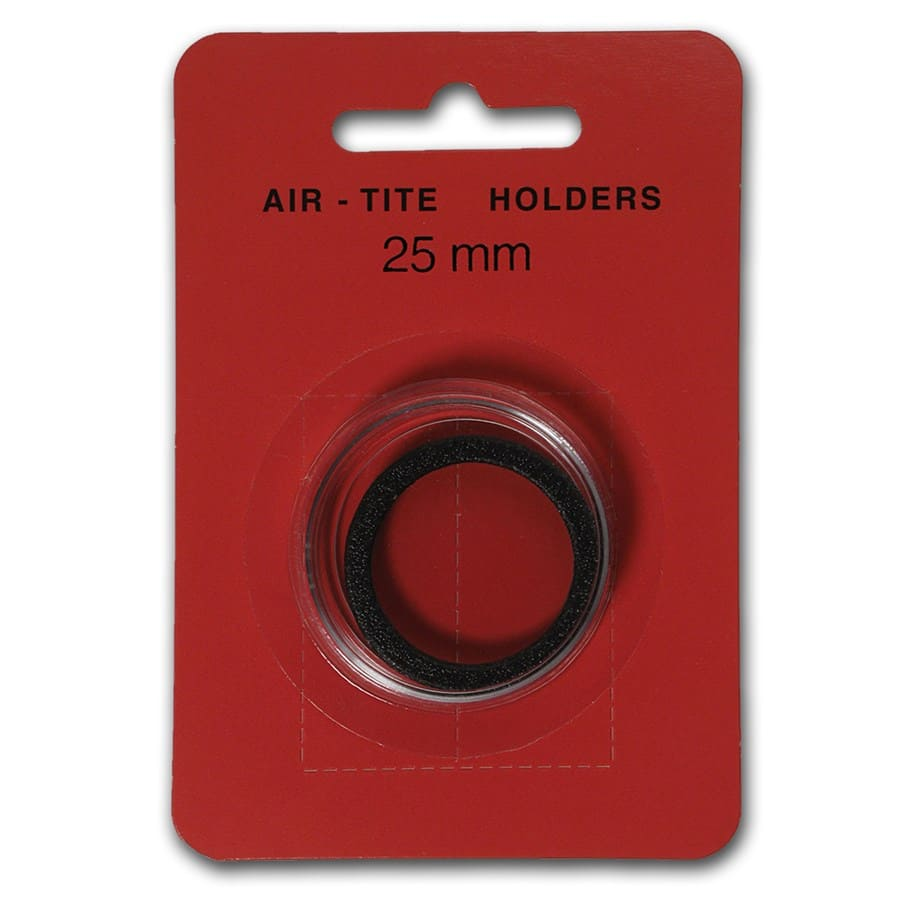 Air-Tite Holder w/Black Gasket - 25 mm