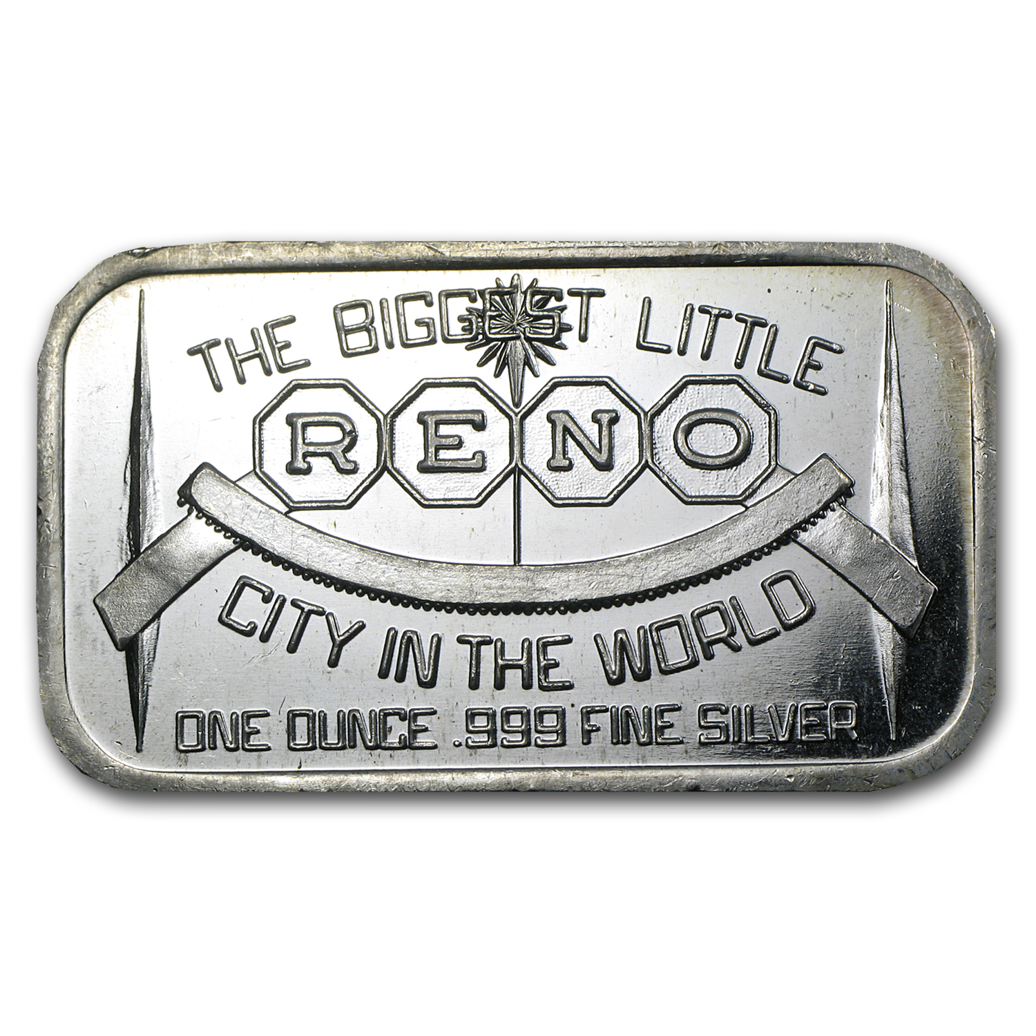 1 oz Silver Bar - RENO