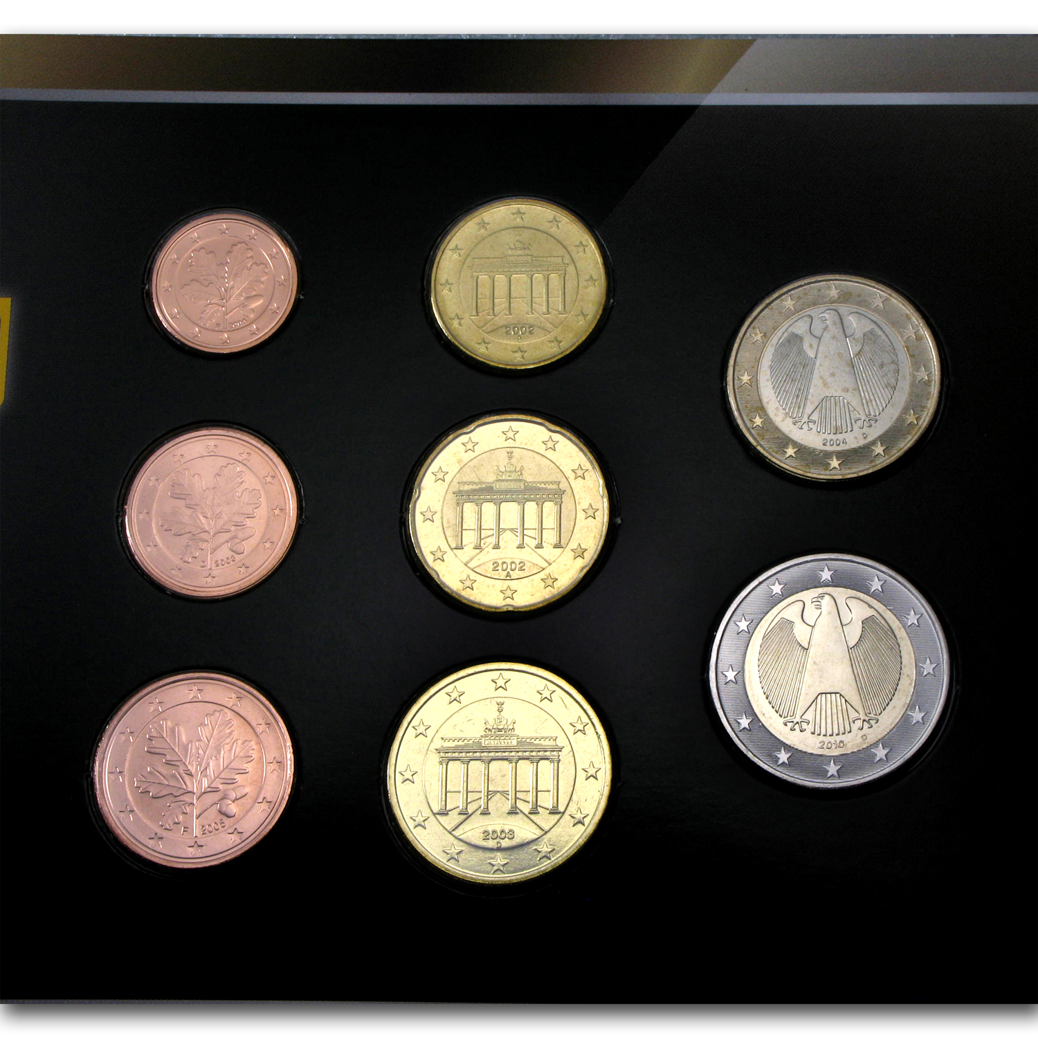 Germany 8 Coin Euro Set
