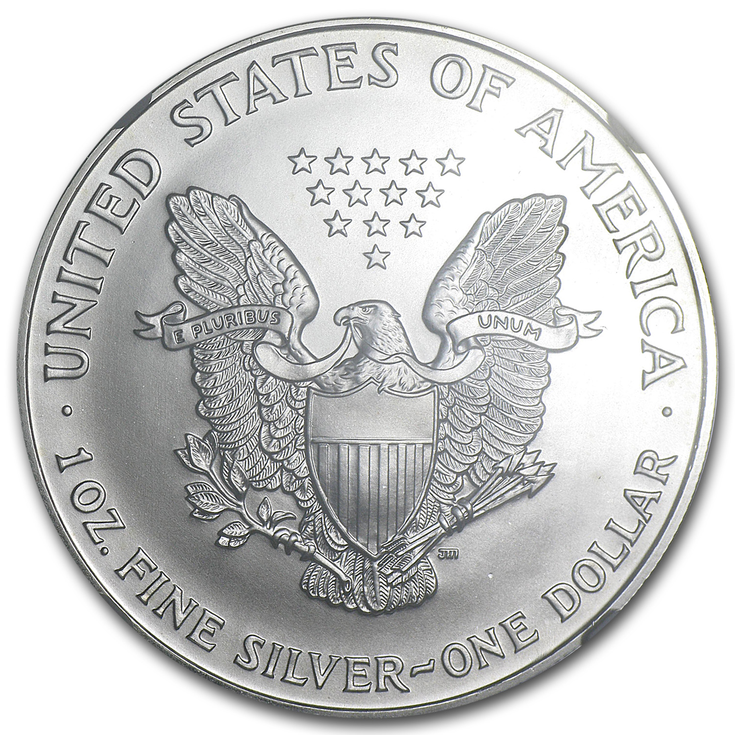 1998 Silver American Eagle MS-69 NGC
