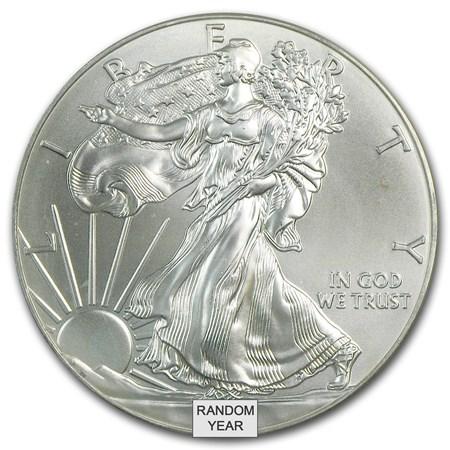 1 Oz Silver American Eagle Cull Damaged Etc Silver