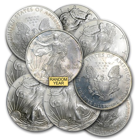 1 Oz Silver American Eagle Cull Damaged Etc Silver