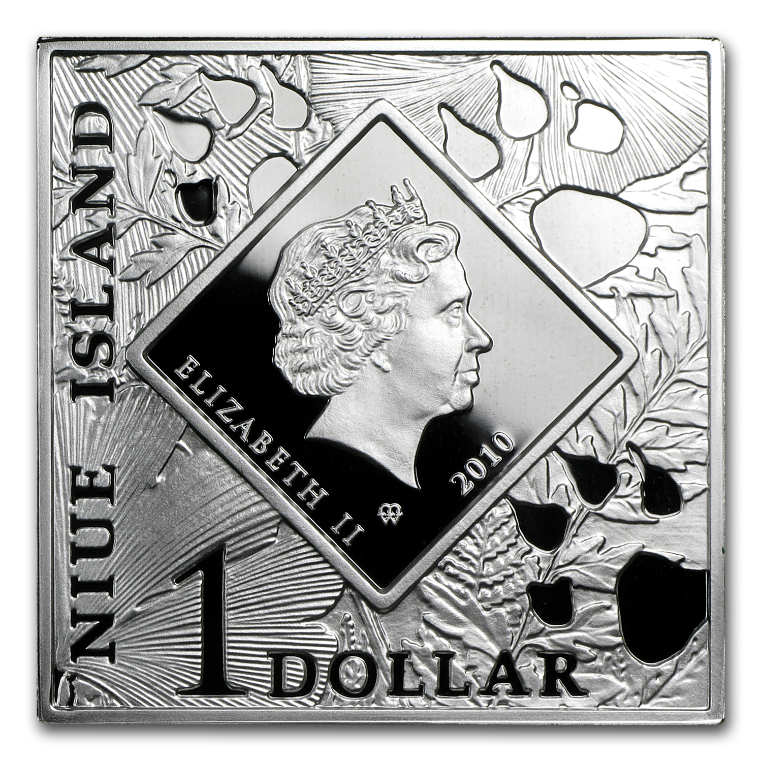 Niue 2010 Proof Silver $1 Oddities of Nature - Pronghorn