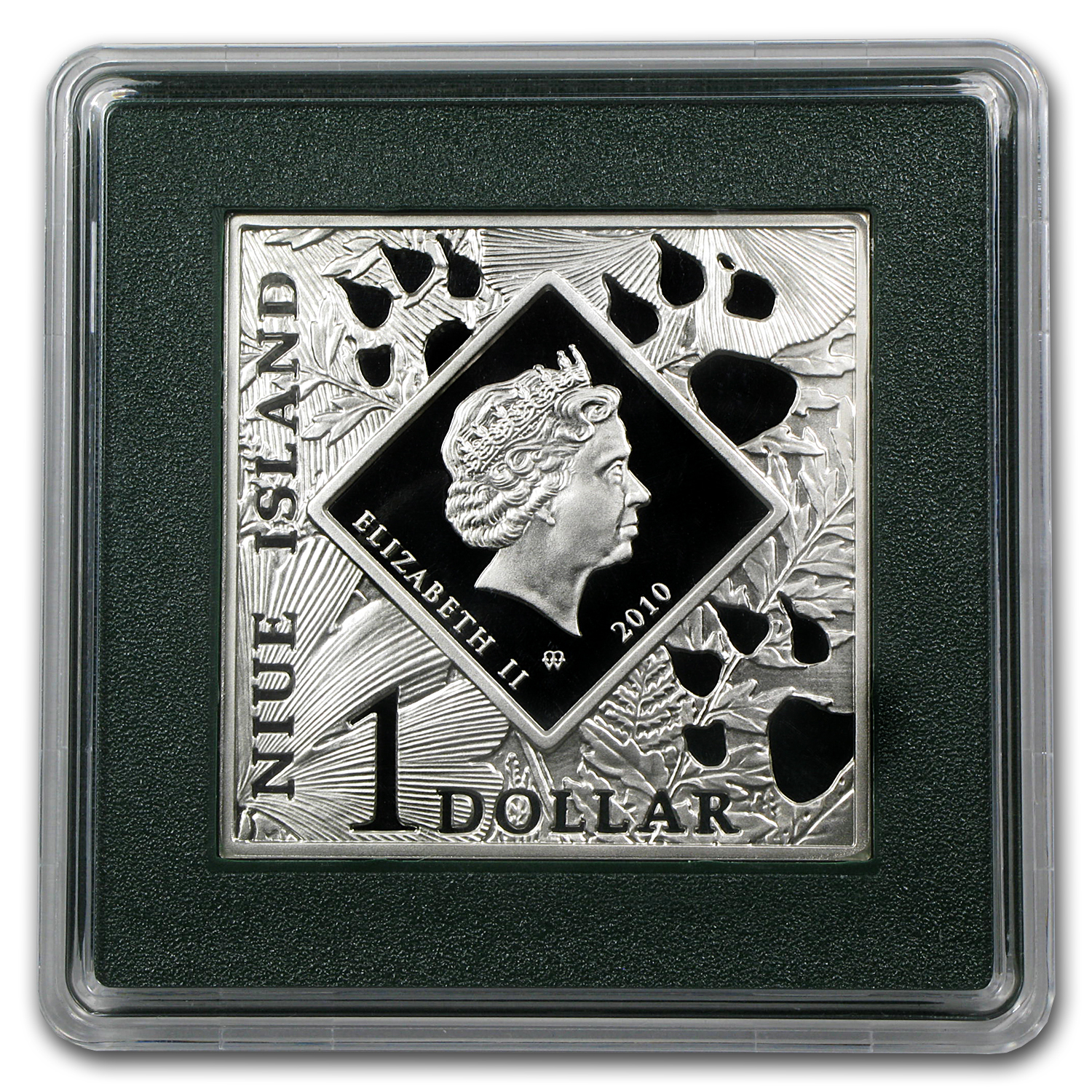 Niue 2010 Proof Silver $1 Oddities of Nature - Platypus