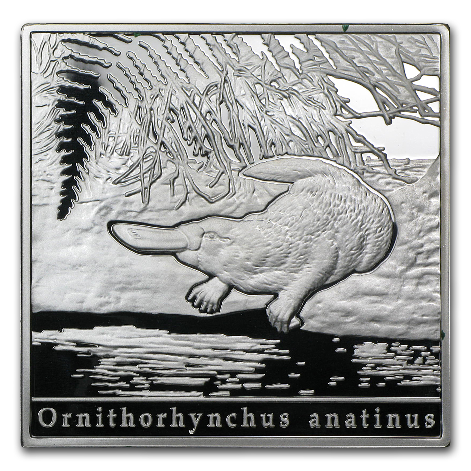 2010 Niue Proof Silver $1 Oddities of Nature Platypus