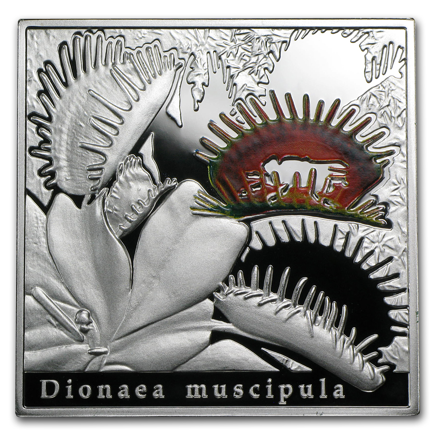 Niue 2010 Proof Silver $1 Oddities of Nature - Venus Flytrap