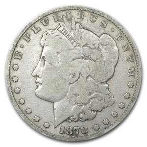 1878-S Morgan Dollar Good (VAM-26, Long Nock, Top-100)