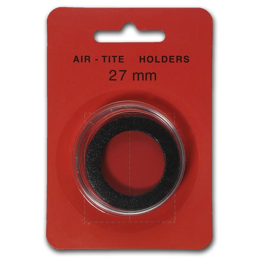 Air-Tite Holder w/Black Gasket - 27 mm