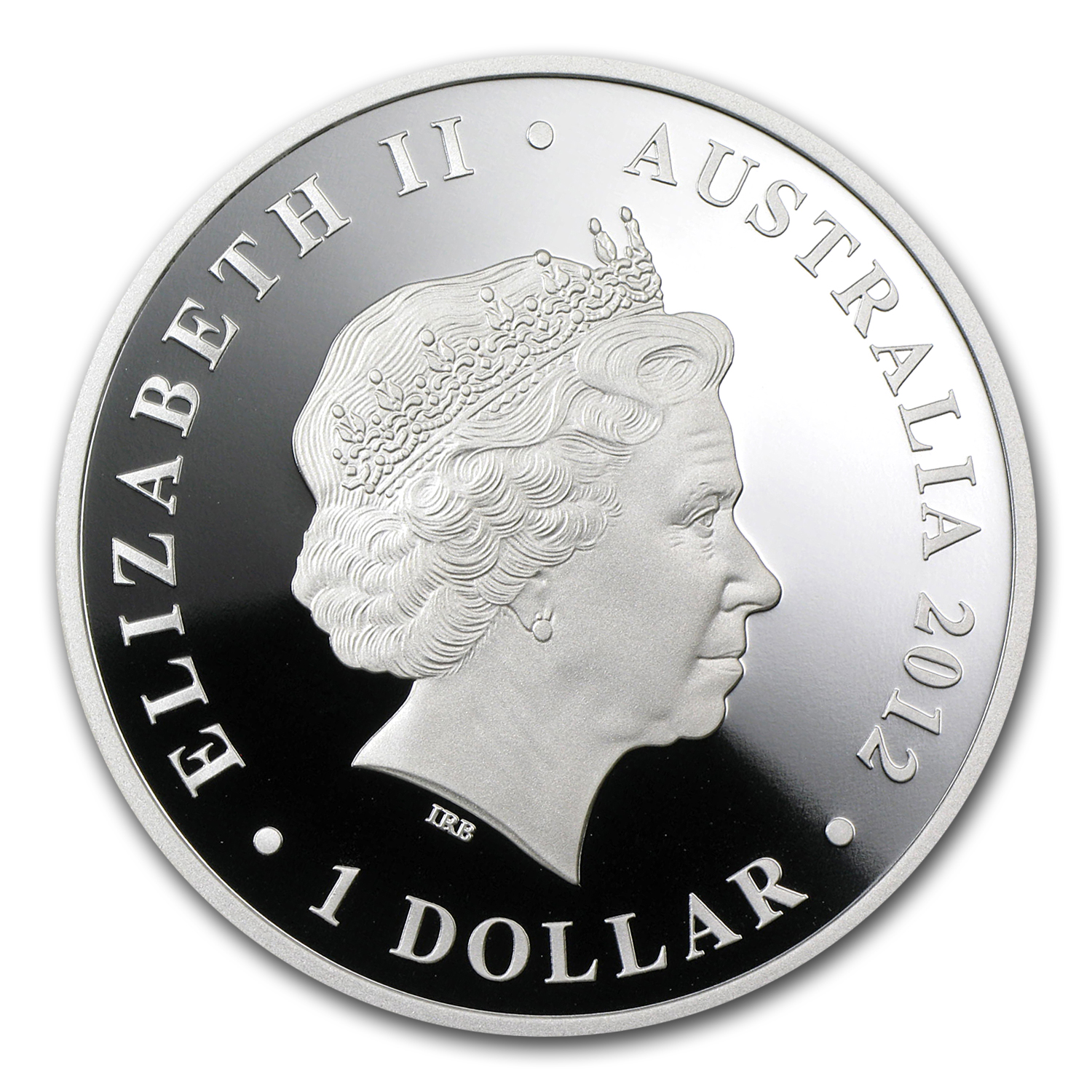 2012 Australia 1 oz Silver Shark Bay Proof (ANDA )