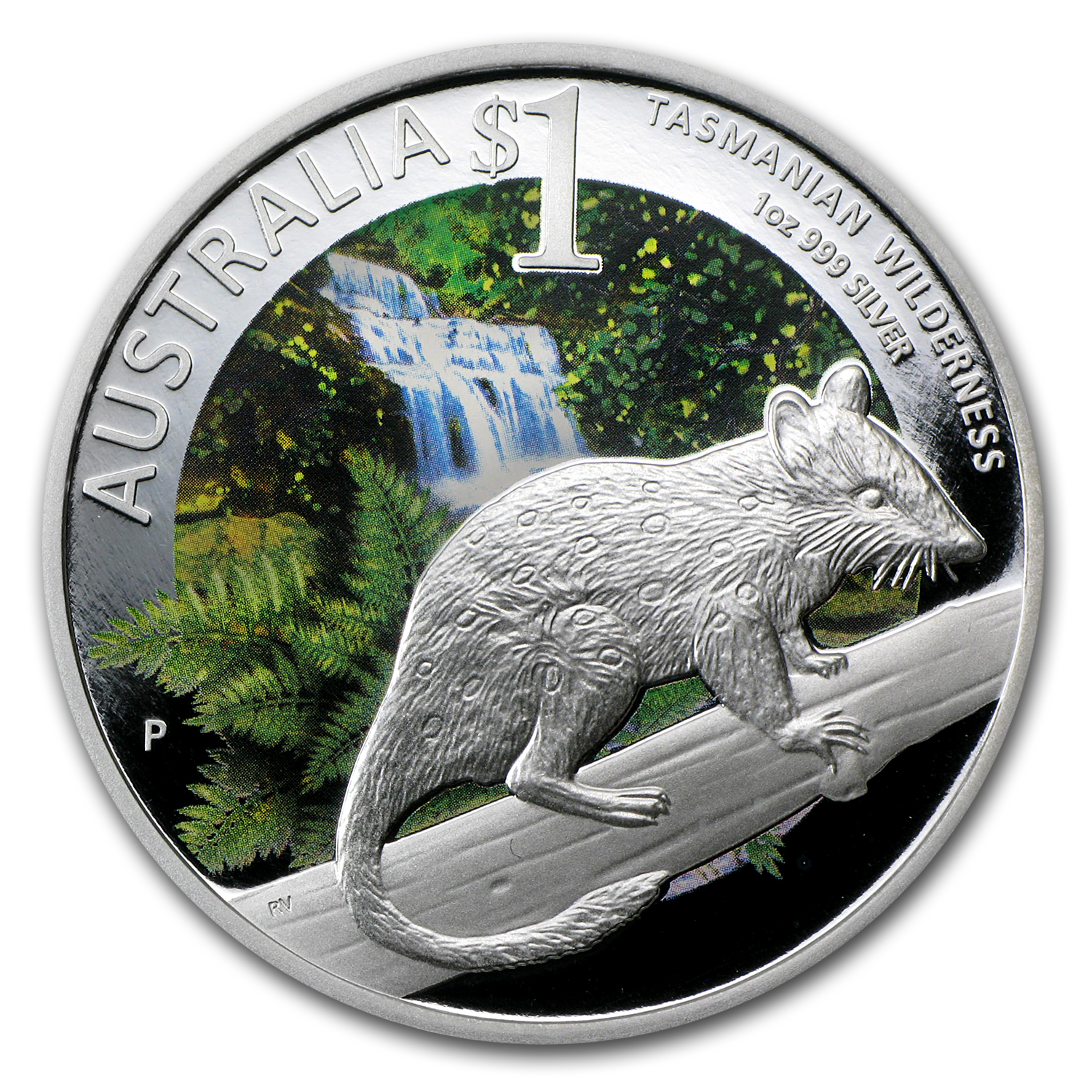 2011 1 oz Silver Tasmanian Wilderness Proof (ANDA, Adelaide)