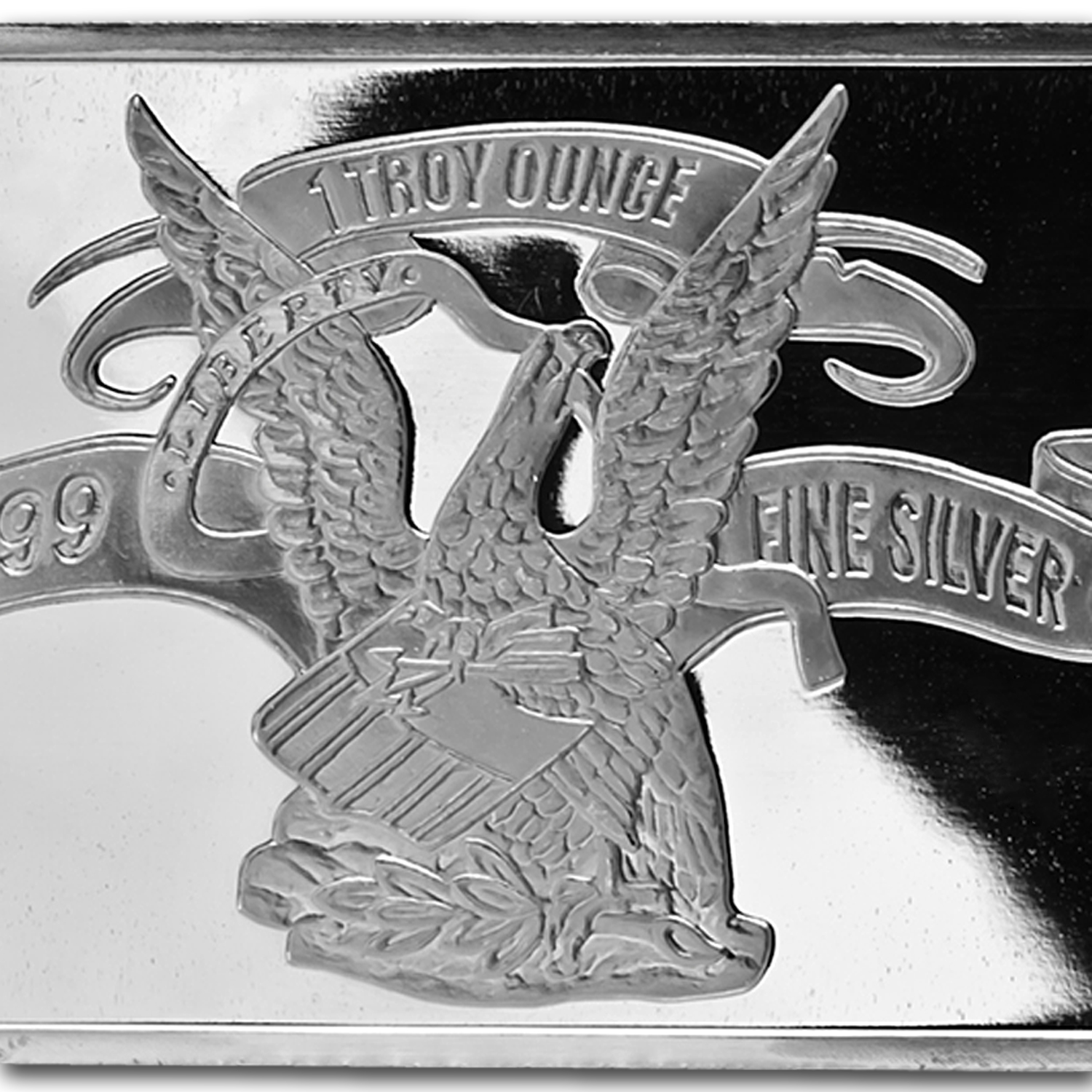 1 oz Silver Bar - APMEX (Original Design)