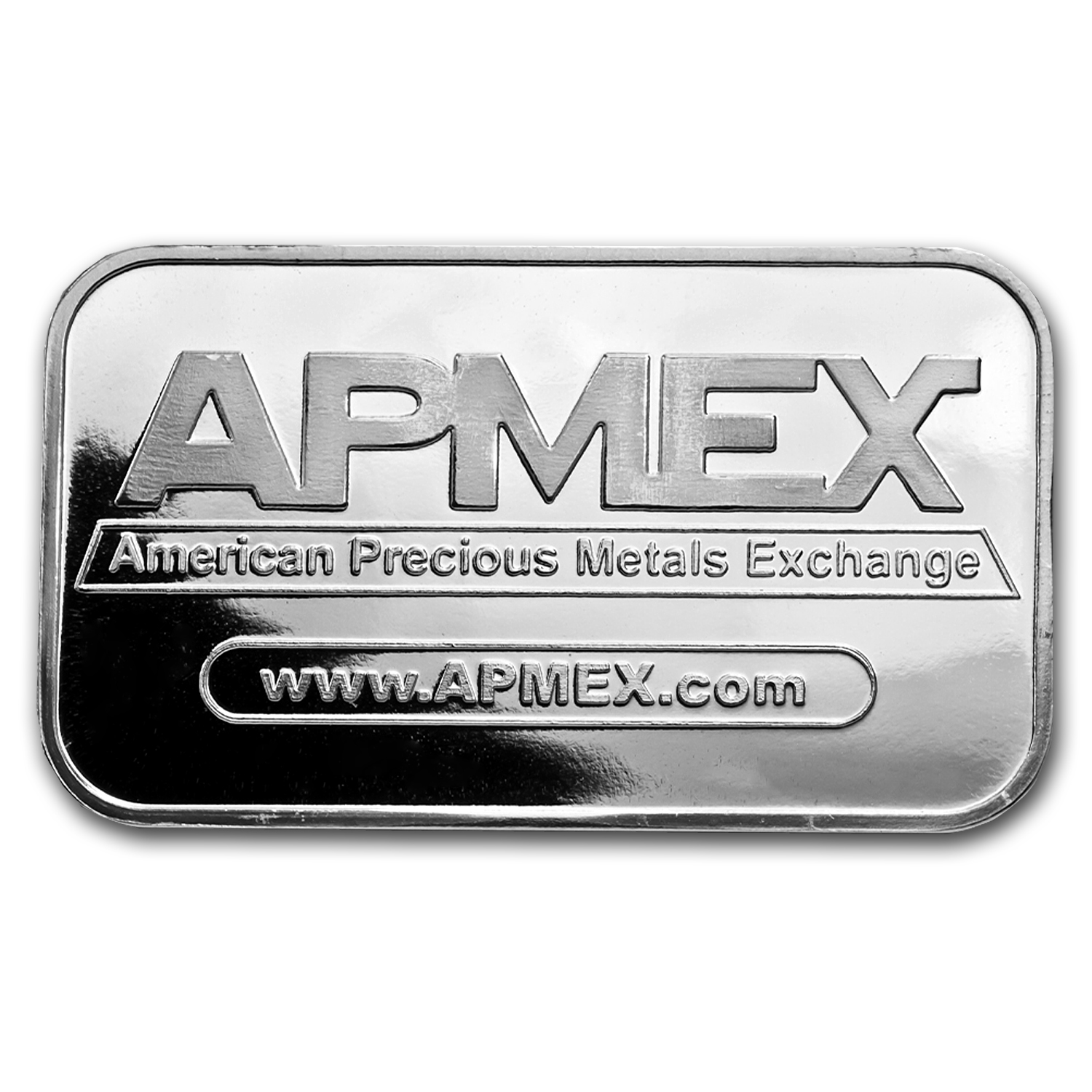 1 oz Silver Bars - APMEX (Original Design)
