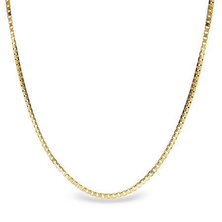 Box Chain 14k Gold Necklace 24 In Gold Value