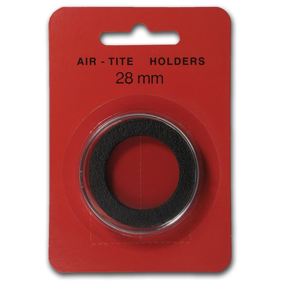 Air-Tite Holder w/ Black Gasket - 28 mm