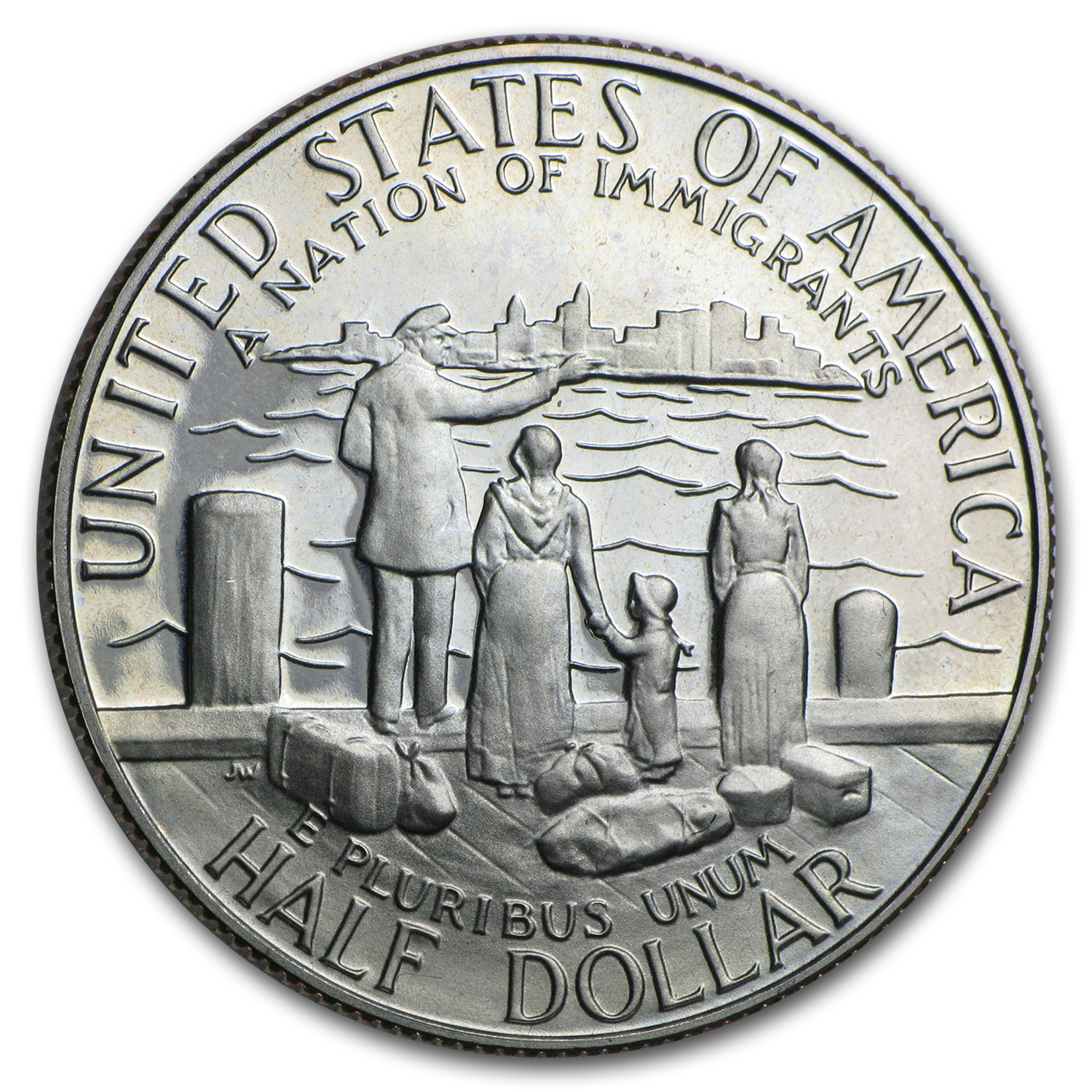 1986-S Statue of Liberty 1/2 Dollar Clad Commem Prf (w/Box & COA)