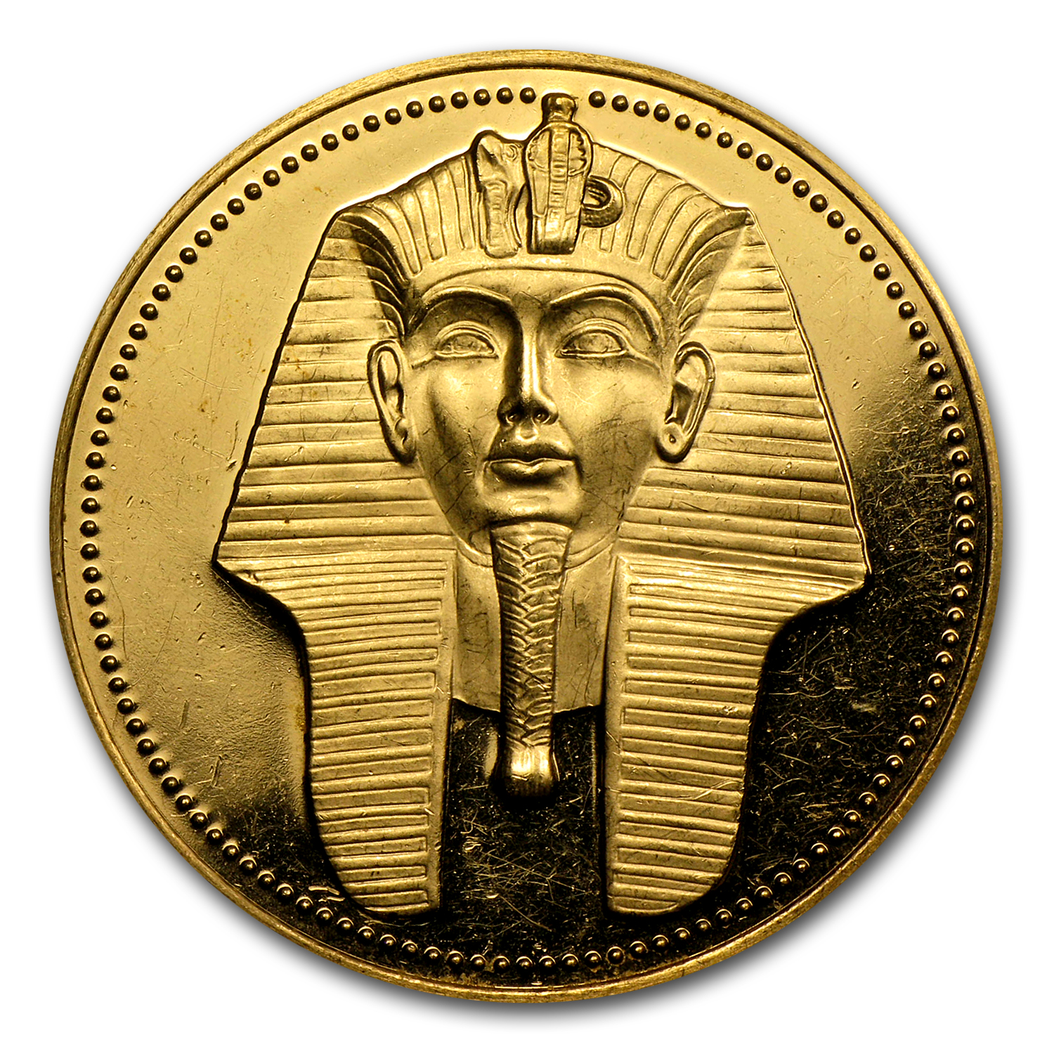 AH1406/1983-1989 Egypt Proof Gold 100 Pound (Random)