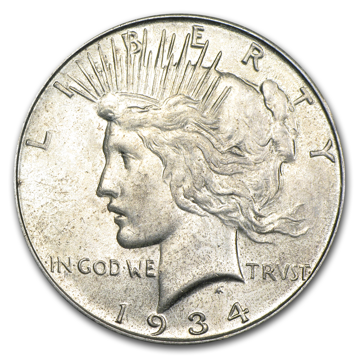 1934-D AU-58 (VAM-3, Doubled Die Obverse, Top-50)