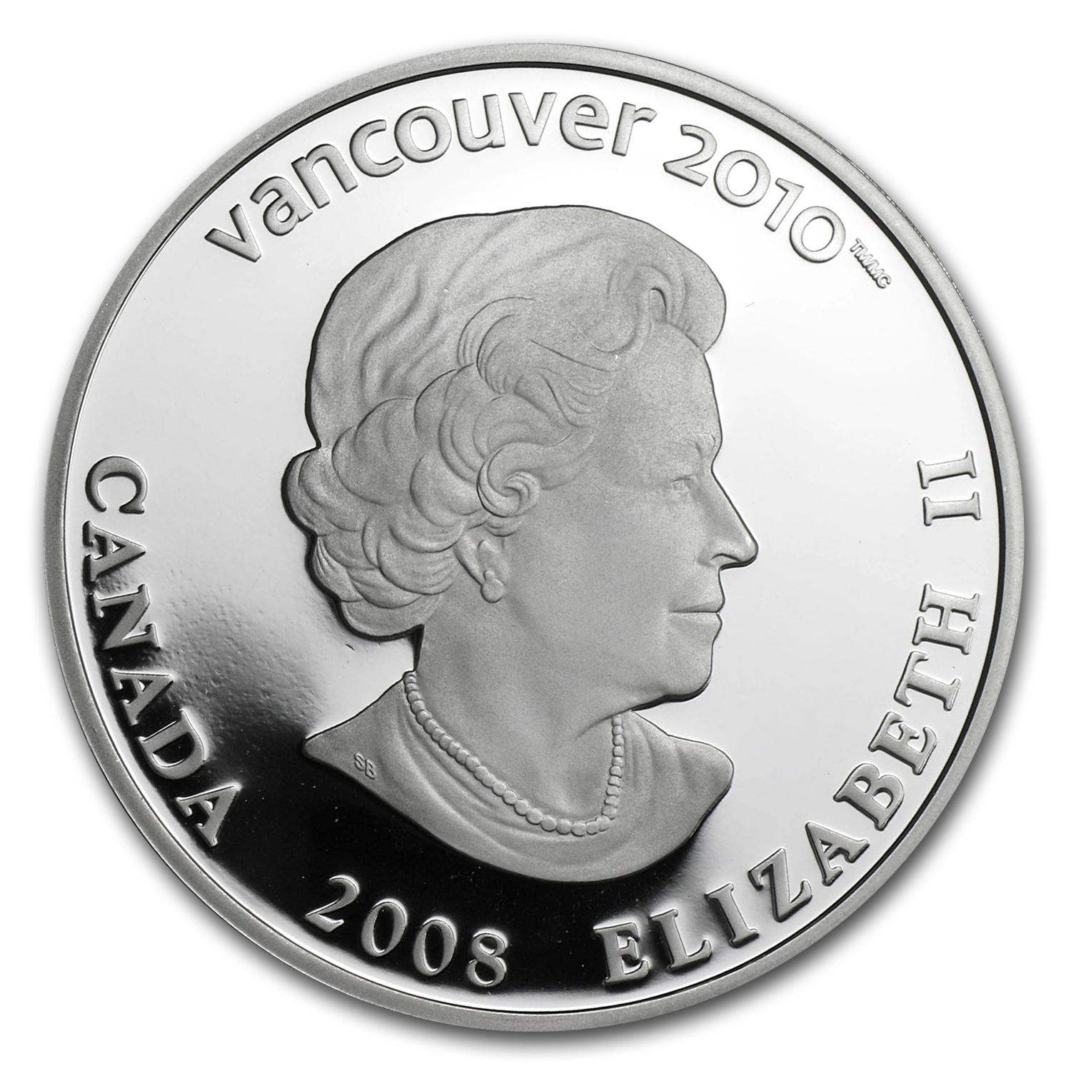 2008 Canada Silver $25 Olympic Venue (Hologram, w/Box & COA)
