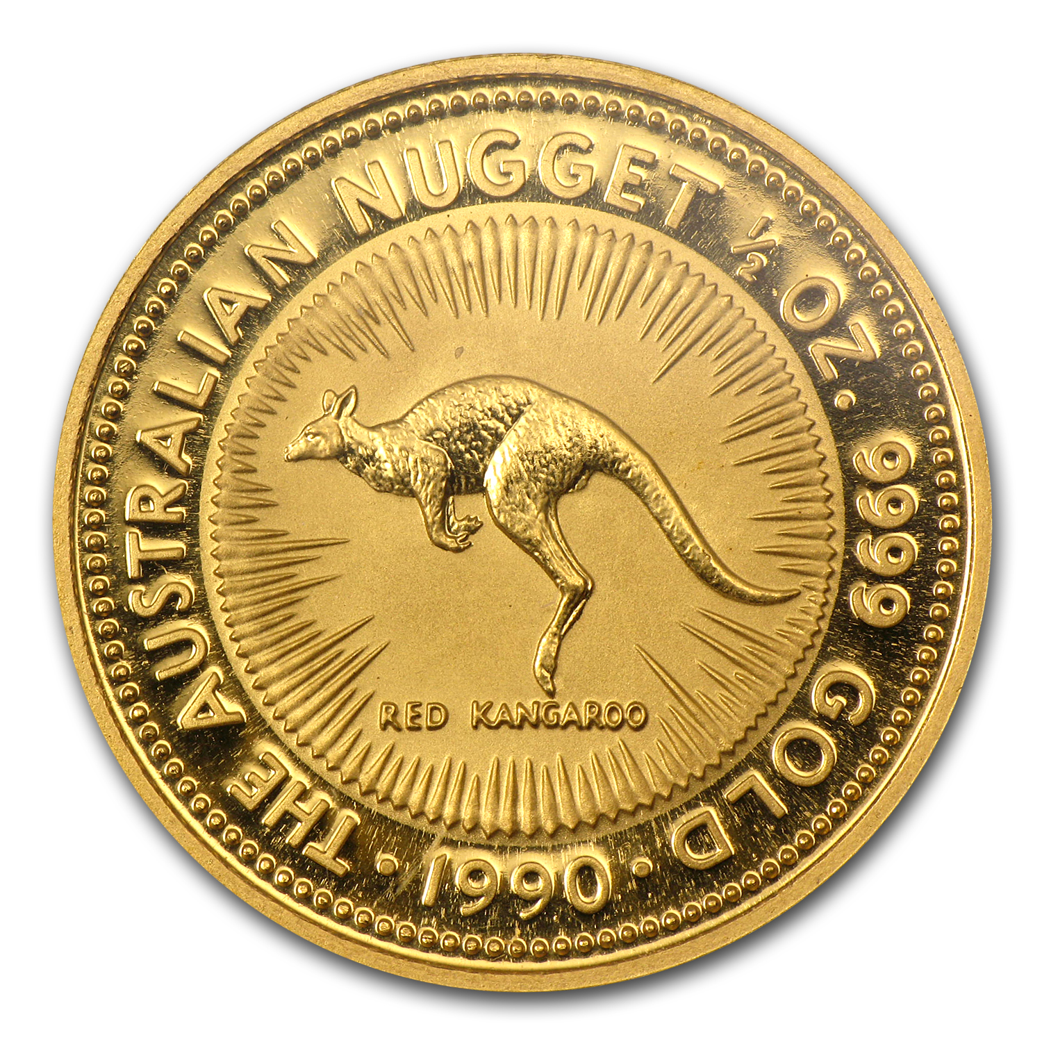 1990 1/2 oz Australian Gold Nugget