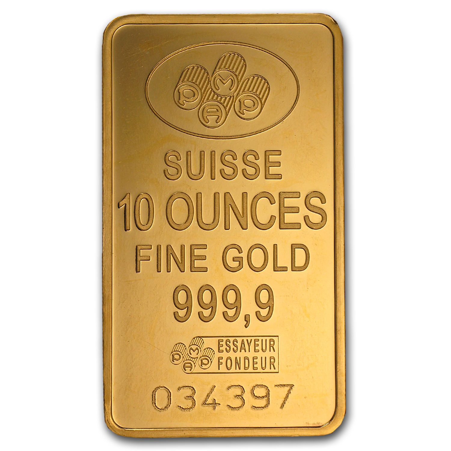 10 oz Gold Bars - Secondary Market