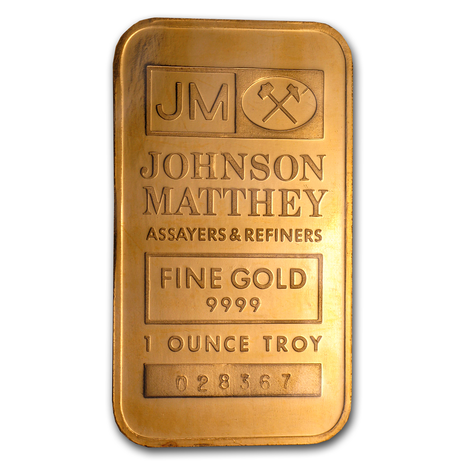 1 oz Gold Bar - Johnson Matthey (TD Bank/PR)